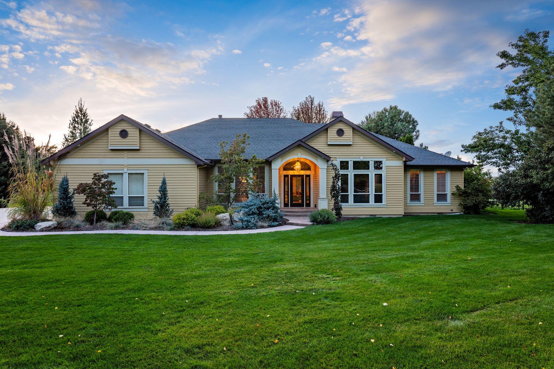 Single Family Homes pour l Vente à 3295 Croft Way, Eagle 3295 N Croft Way Eagle, Idaho 83616 États-Unis
