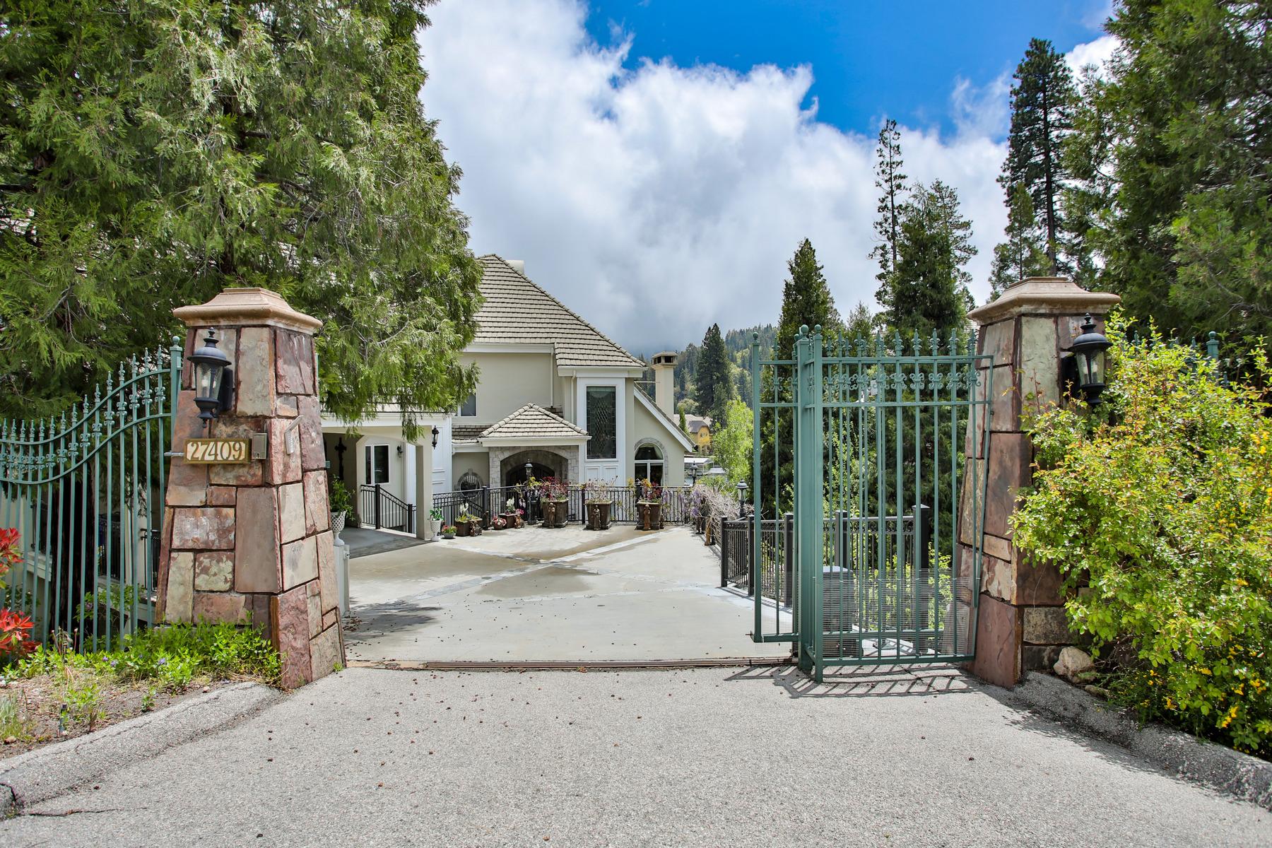 Single Family Homes por un Venta en 27409 North Bay Road Lake Arrowhead, California 92352 Estados Unidos