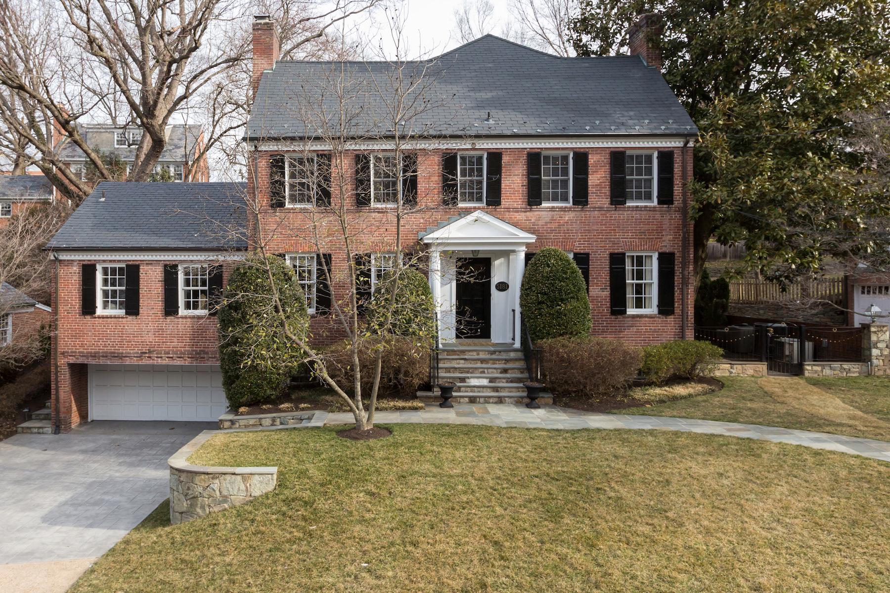 独户住宅 为 销售 在 Kent 5181 Watson Street Nw 华盛顿市, 哥伦比亚特区, 20016 美国
