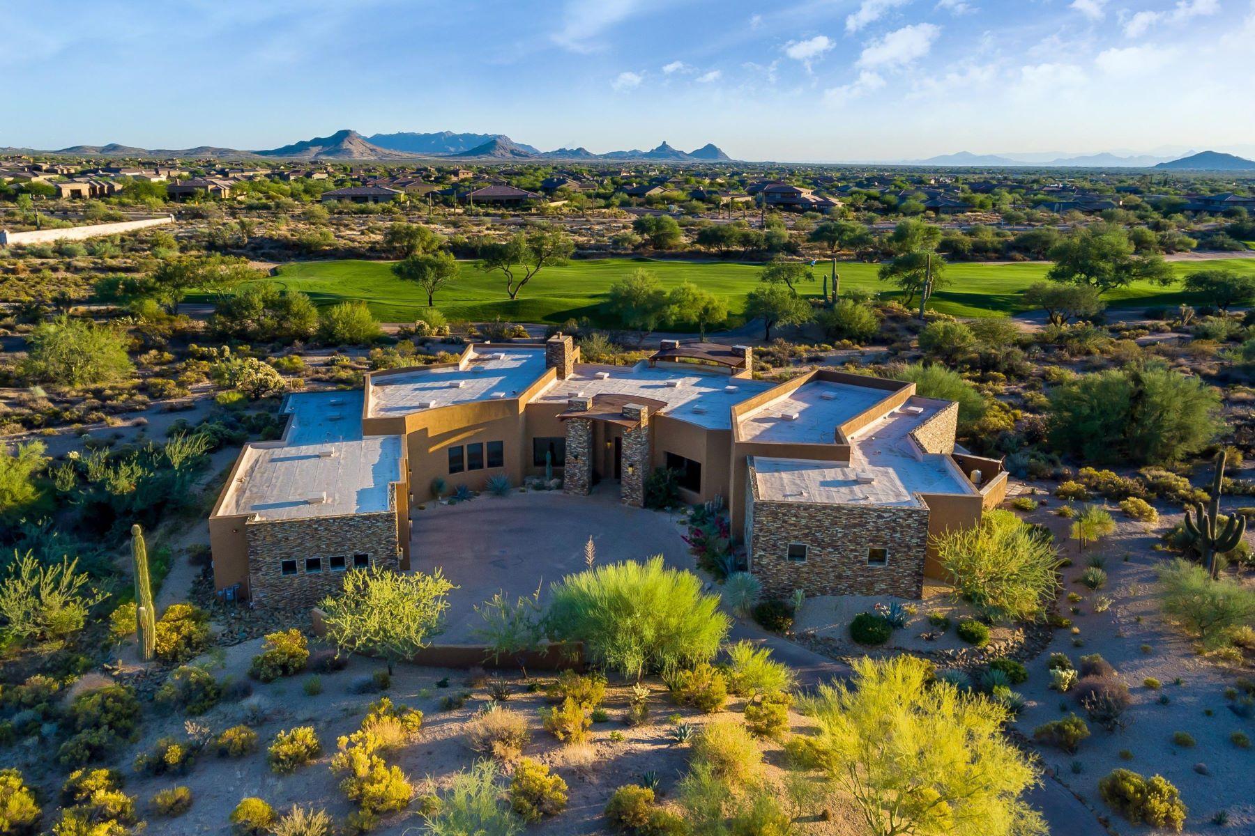 獨棟家庭住宅 為 出售 在 Custom Golf Course Home 9729 E SUNDANCE TRL, Scottsdale, 亞利桑那州, 85262 美國