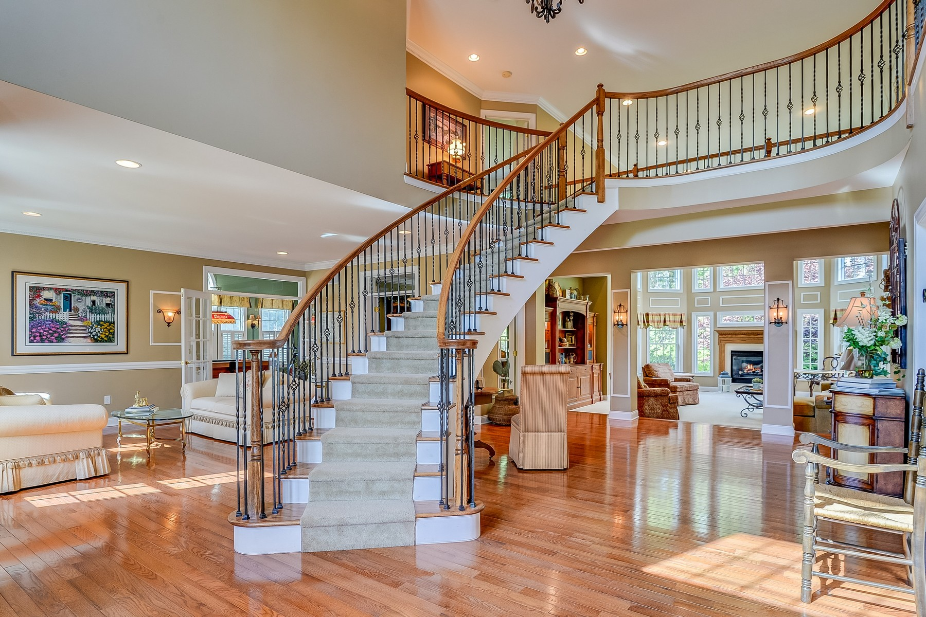Single Family Homes for Sale at Stunning Two Story Colonial 7 St James Street Monroe, New Jersey 08831 United States