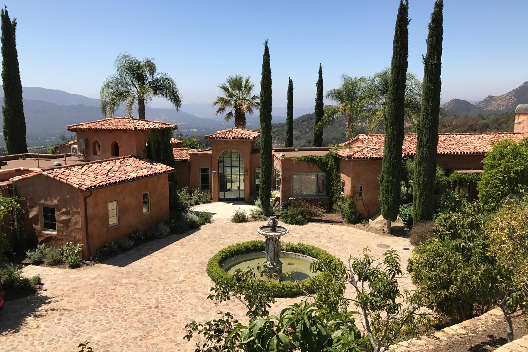 Single Family Homes for Sale at 2661 Ladera Road Ojai, California 93023 United States