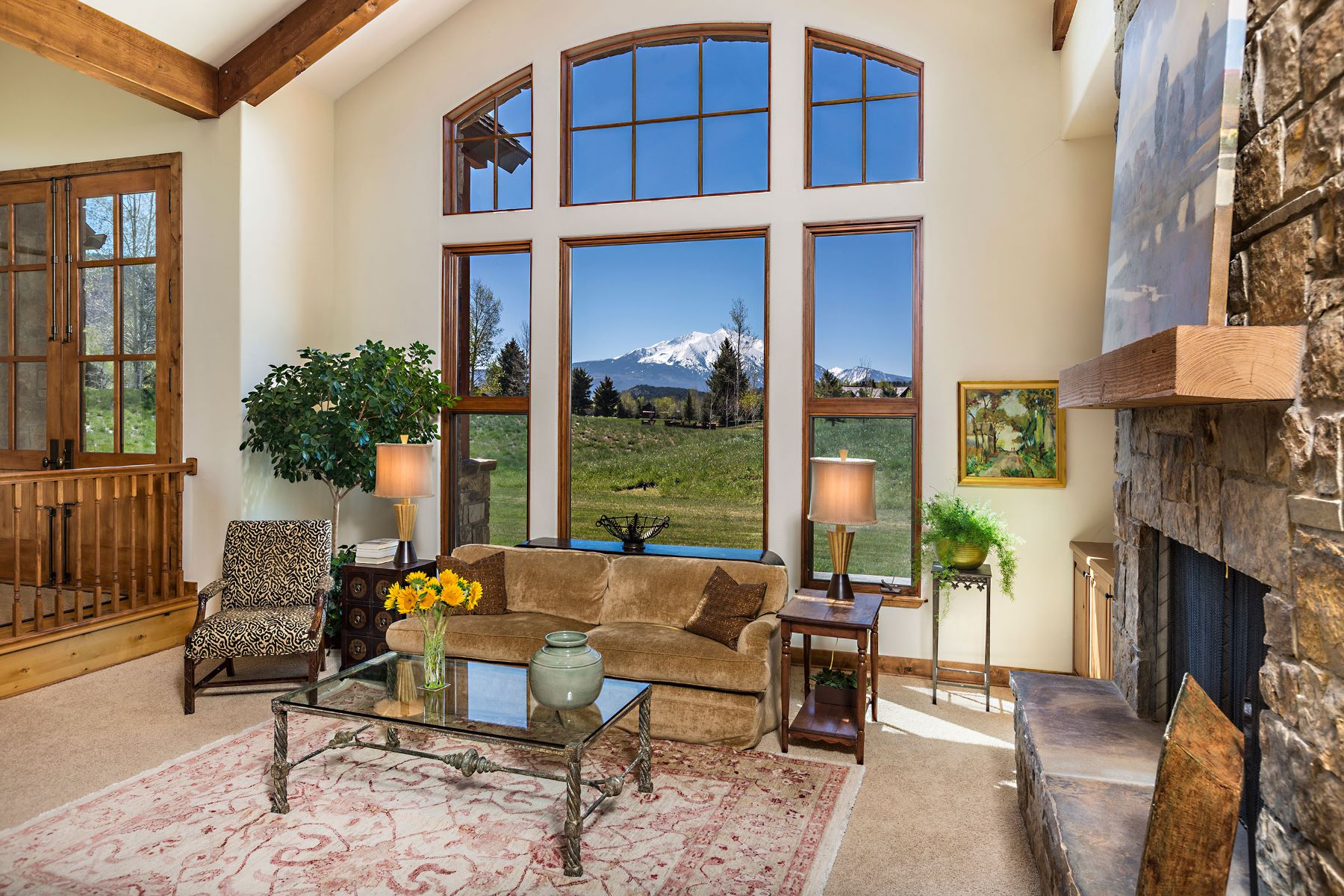 Single Family Home for Sale at Gracious Single Level Living 18 Leonis Lane Carbondale, Colorado, 81623 United States