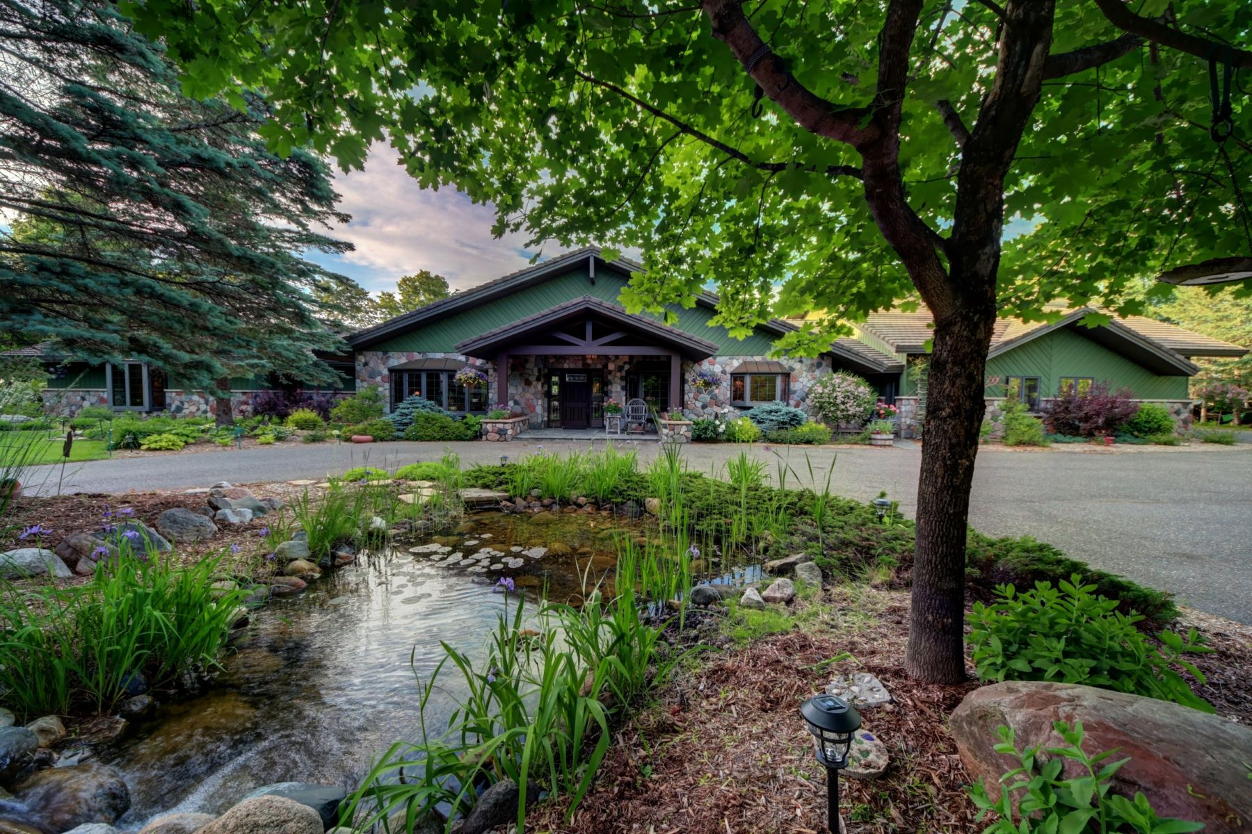 Single Family Homes for Sale at Lake Antoine waterfront property W7958 S. Lake Antoine Road Iron Mountain, Michigan 49801 United States