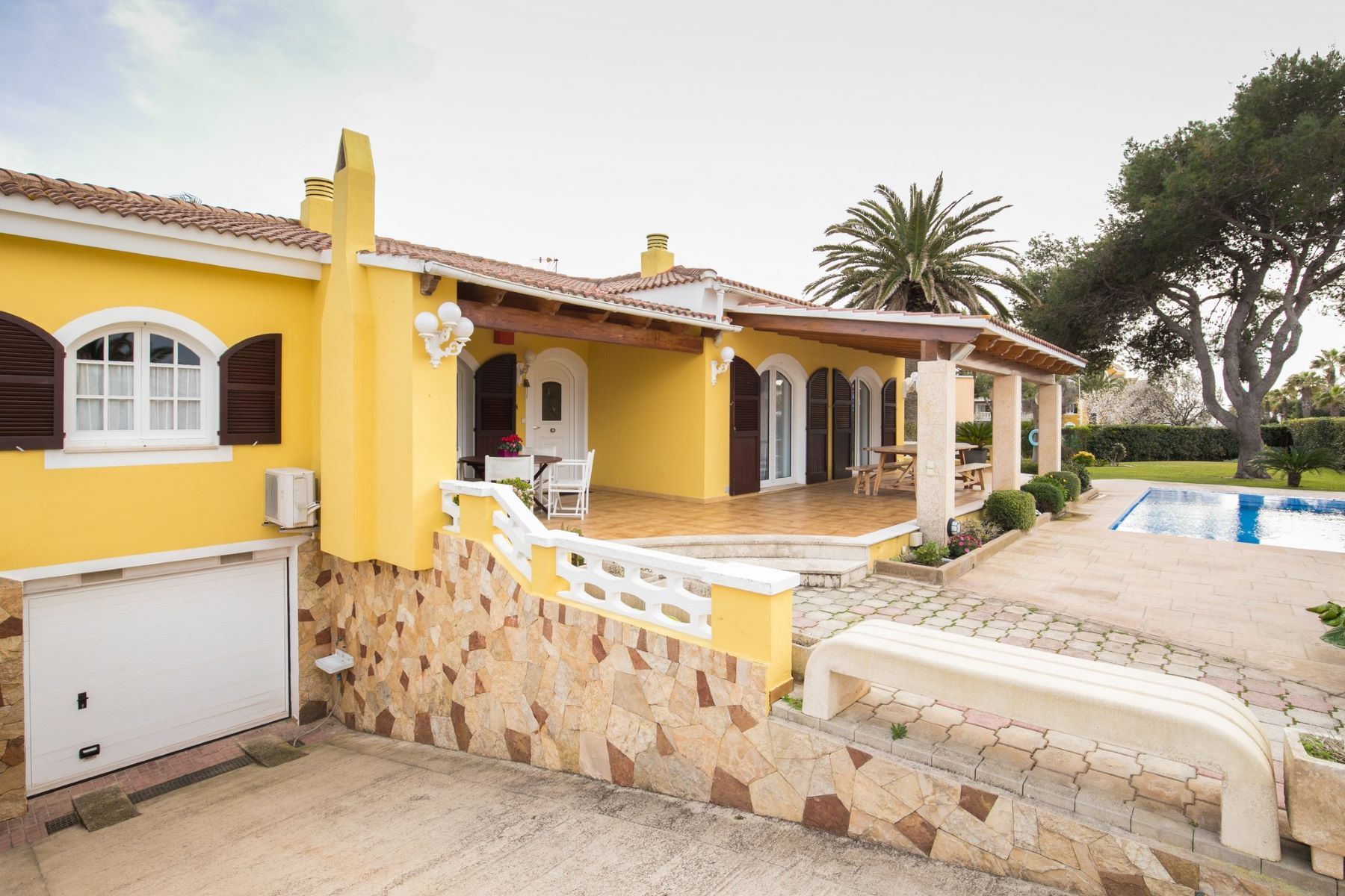Single Family Home for Sale at Sa Caleta beach house Menorca, Menorca Spain