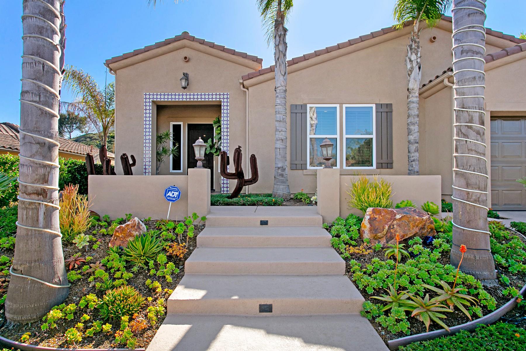 Single Family Homes for Sale at 1743 Cuadro Vista San Marcos, California 92078 United States