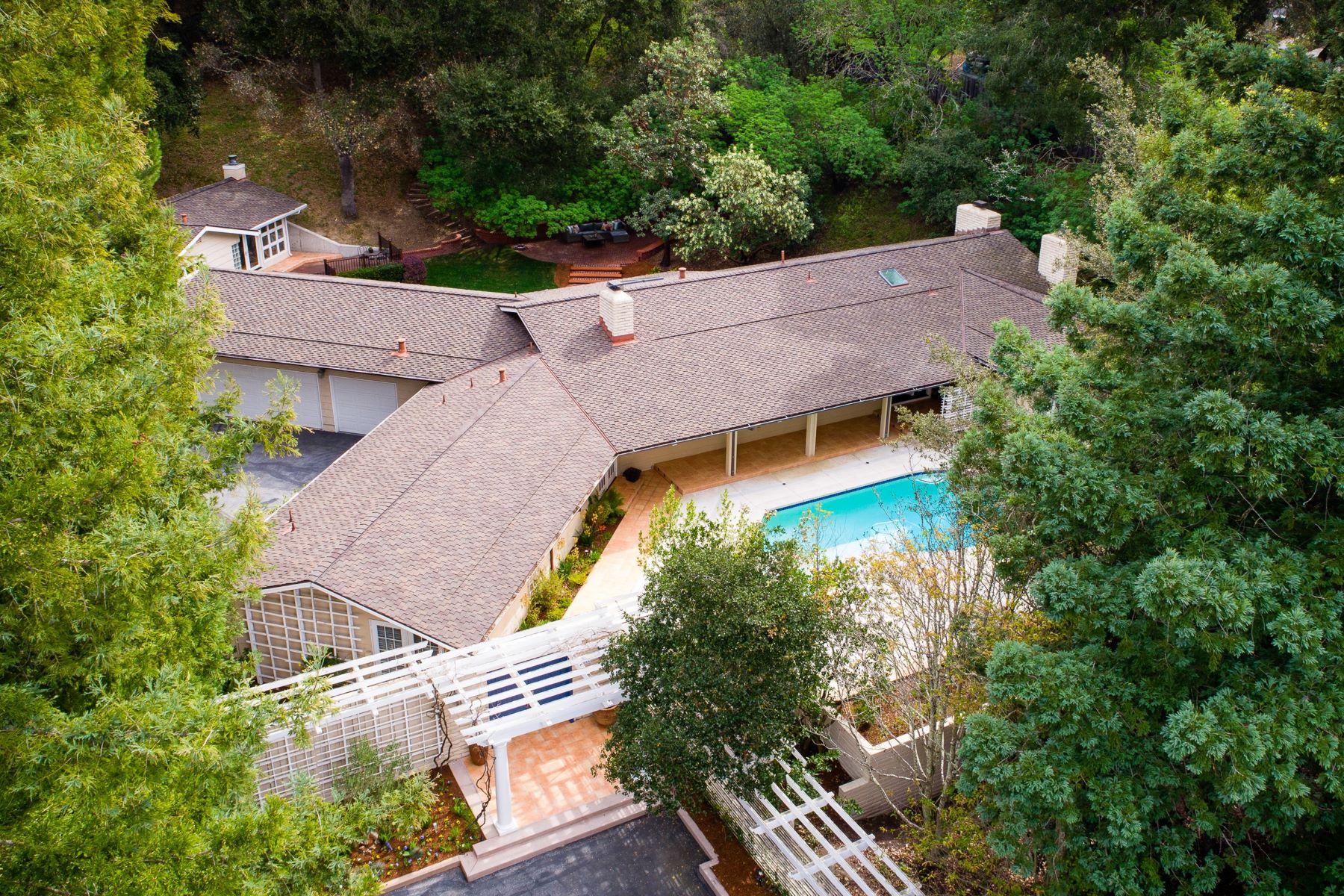 Single Family Homes para Venda às The Ultimate Silicon Valley Getaway in Central Portola Valley 286 Willowbrook Drive, Portola Valley, Califórnia 94028 Estados Unidos