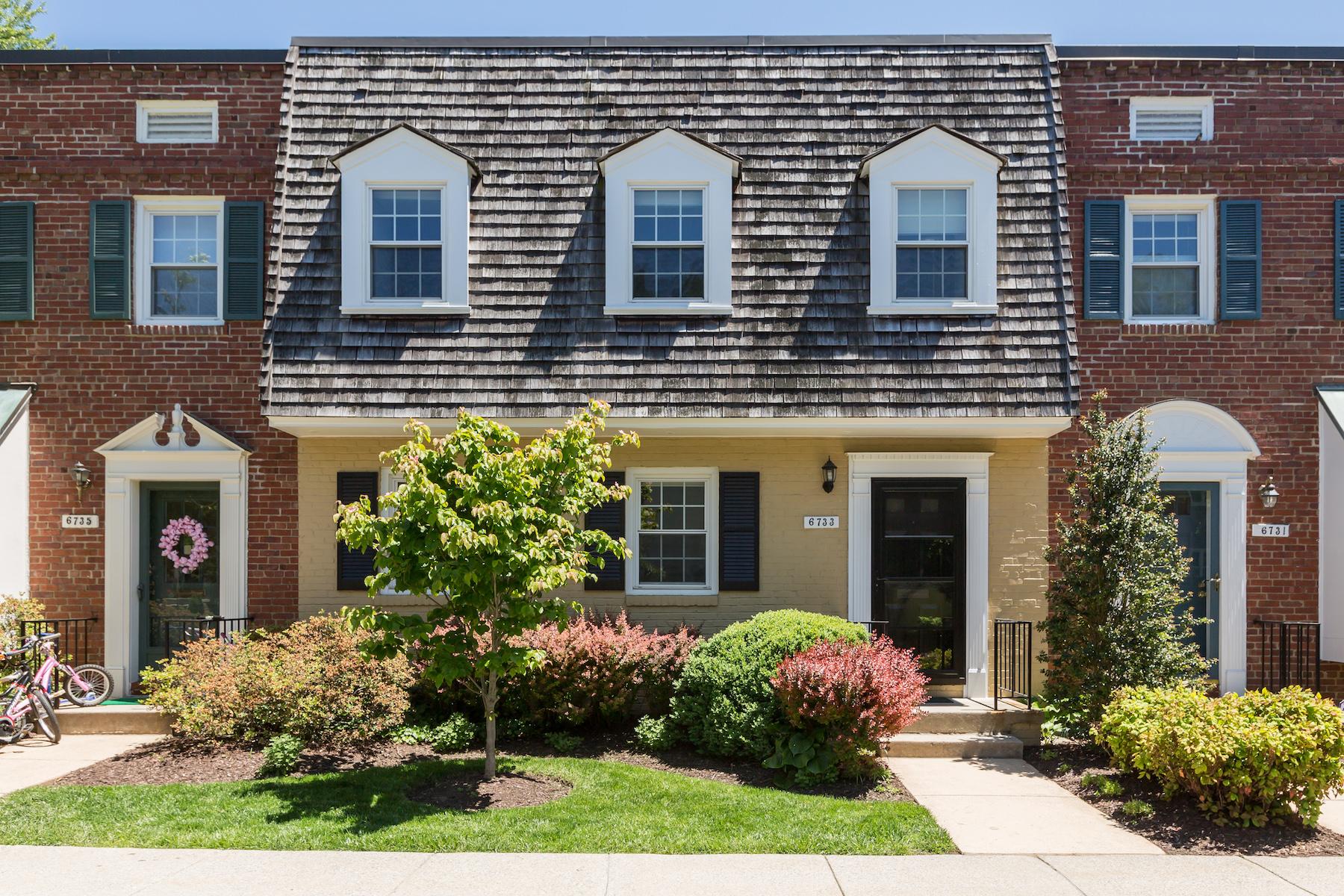 タウンハウス のために 売買 アット 6733 Kenwood Forest Lane, Chevy Chase 6733 Kenwood Forest Ln Chevy Chase, メリーランド, 20815 アメリカ合衆国