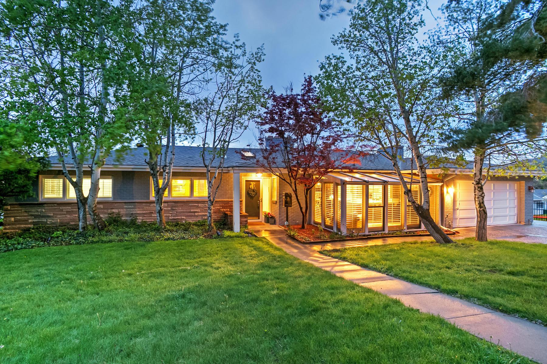 Частный односемейный дом для того Продажа на Rare Opportunity in the Heart of St. Mary's 1098 S Augusta Way Salt Lake City, Юта, 84108 Соединенные Штаты