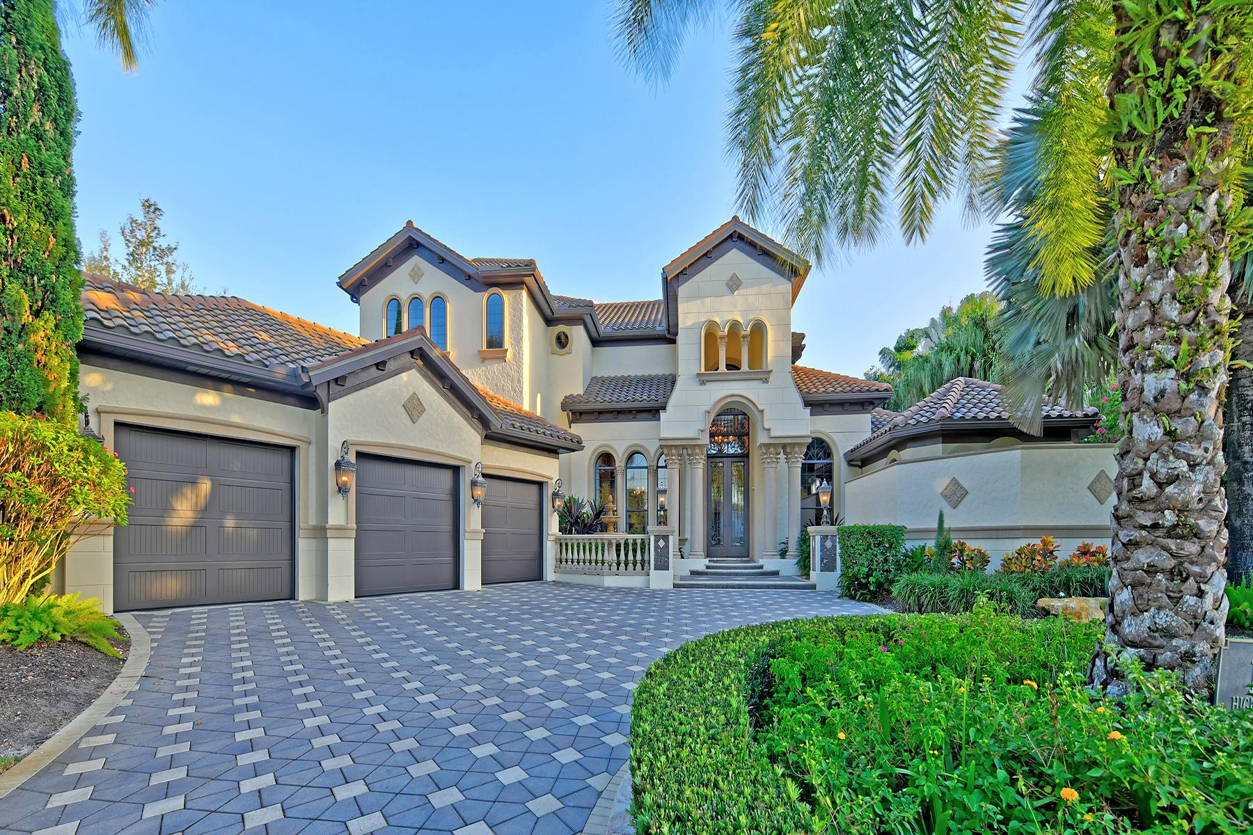 Single Family Homes için Satış at LAKEWOOD RANCH COUNTRY CLUB 12539 Highfield Cir, Lakewood Ranch, Florida 34202 Amerika Birleşik Devletleri