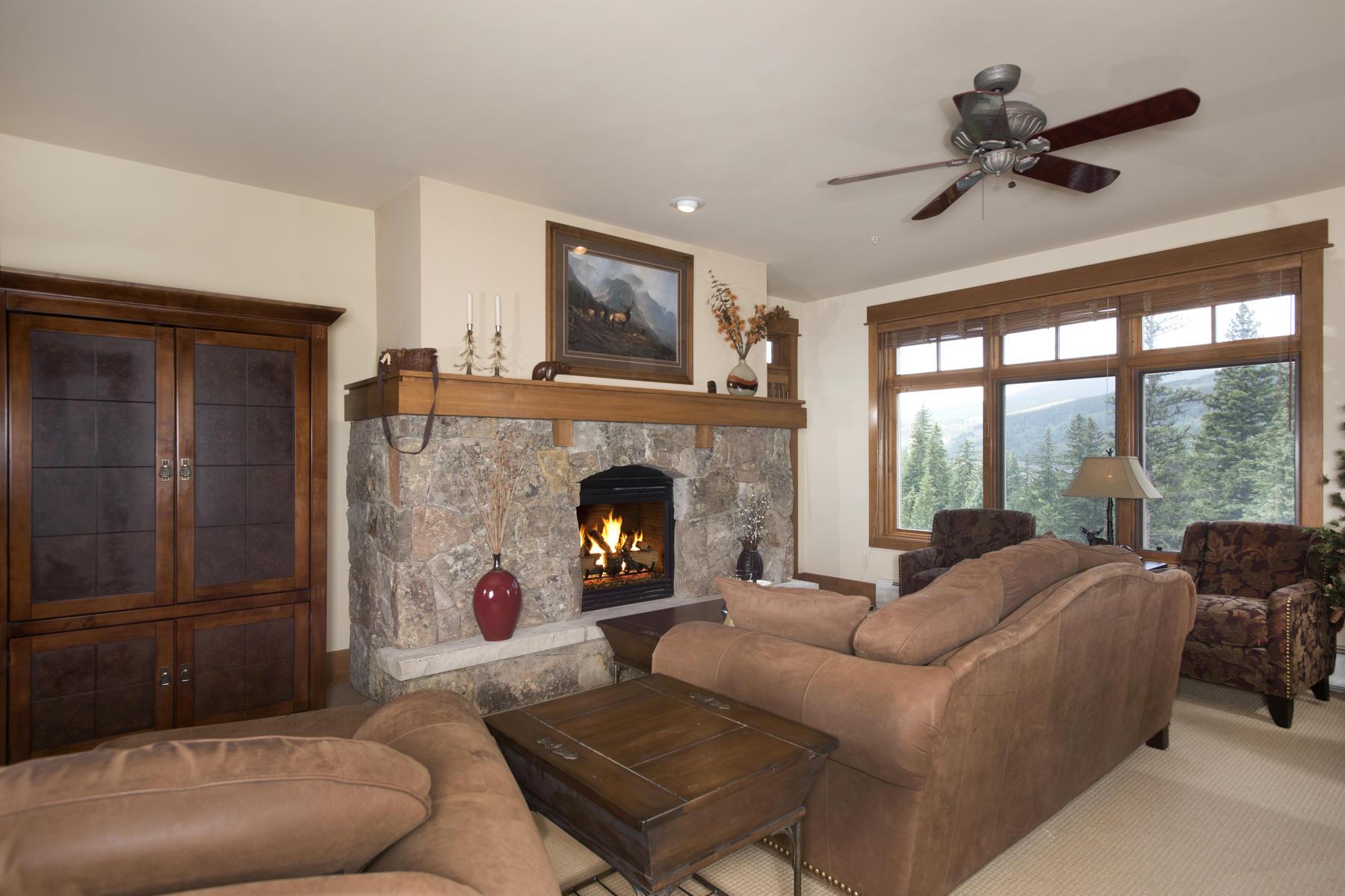 Condominium for Active at Ski In/Ski Out Condo with Mountain & River Views 280 Trail Head Drive Unit 3037 Keystone, Colorado 80435 United States