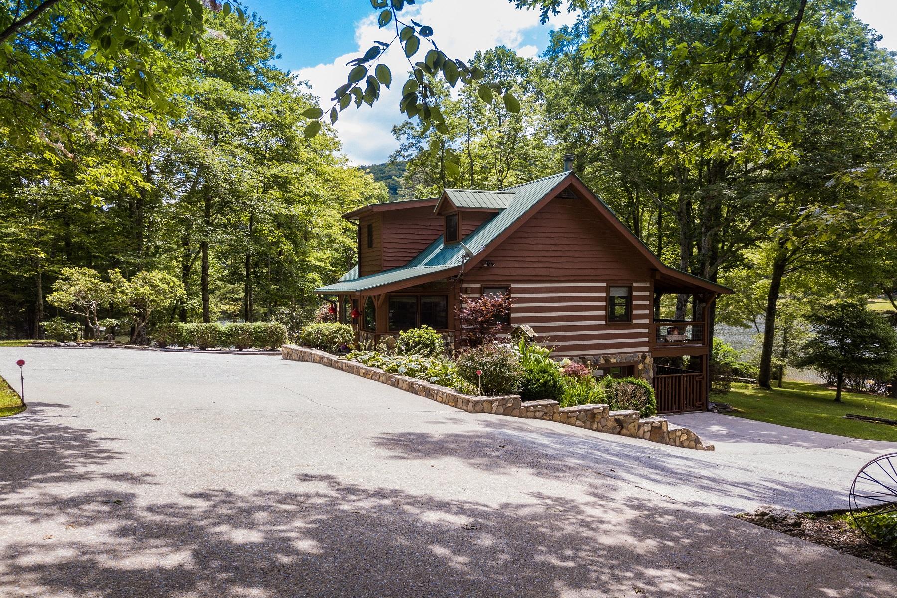 Single Family Homes για την Πώληση στο Bowen 265 Rocky Knob Lane, Scaly Mountain, Βορεια Καρολινα 28775 Ηνωμένες Πολιτείες
