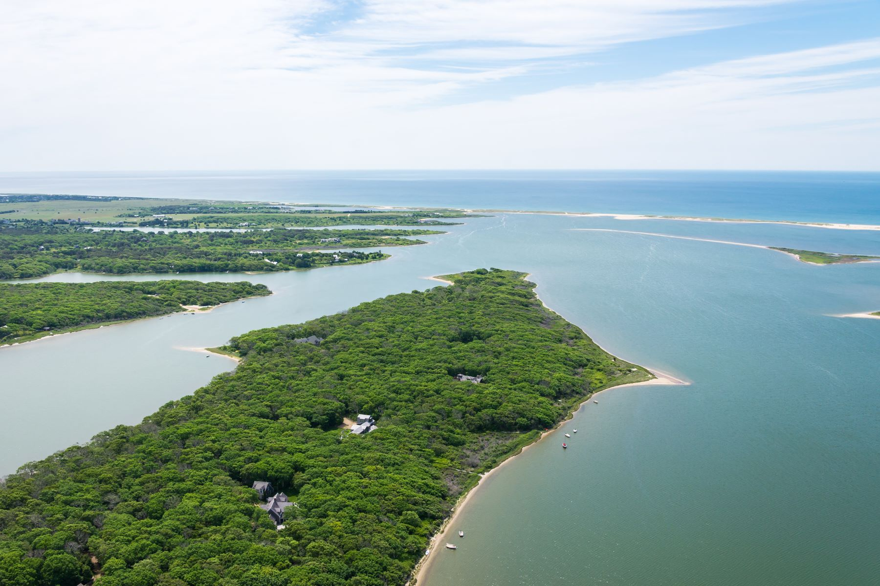 Land for Sale at Waterfront parcel on Martha's Vineyard 71 Kanomika Road Edgartown, Massachusetts 02539 United States