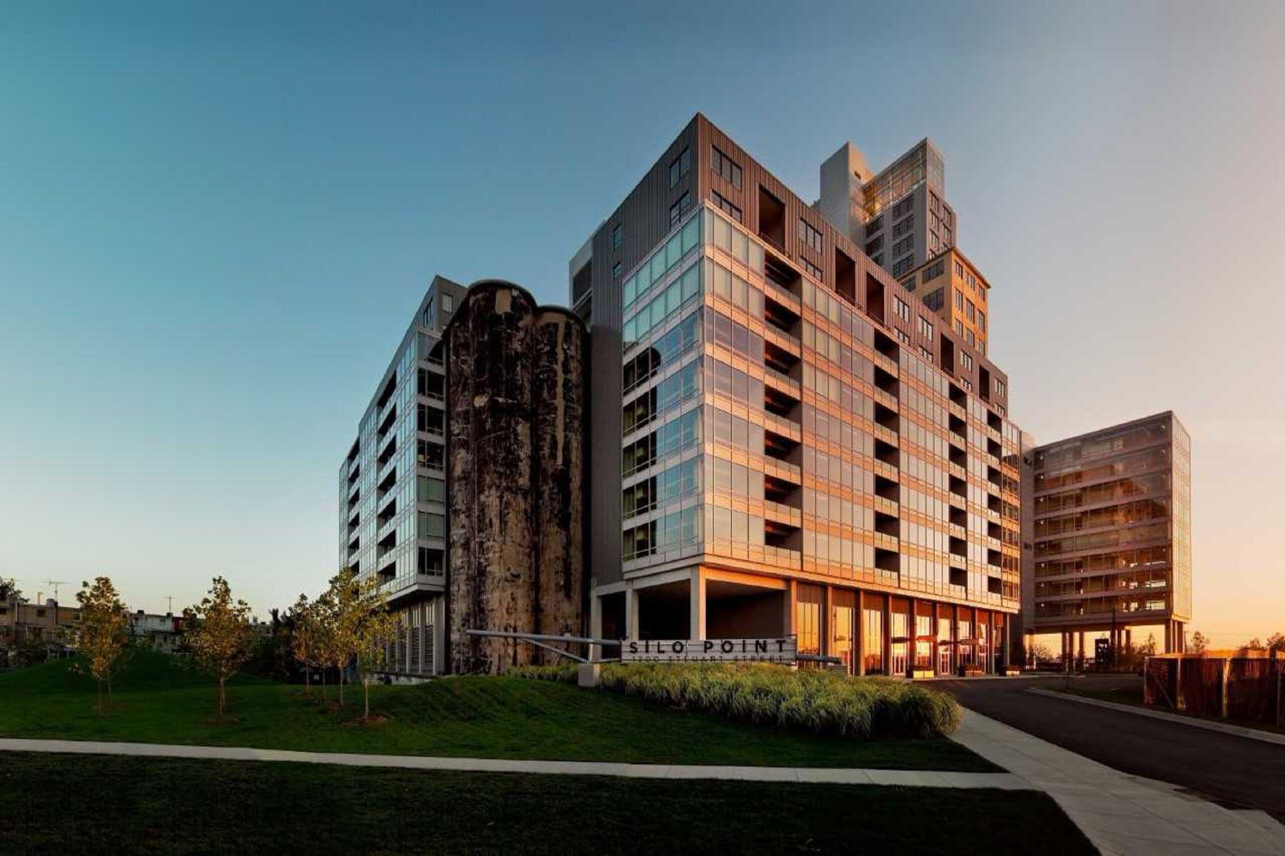 Appartement en copropriété pour l à louer à Silo Point 1200 Steuart Street #1041, Baltimore, Maryland, 21230 États-Unis