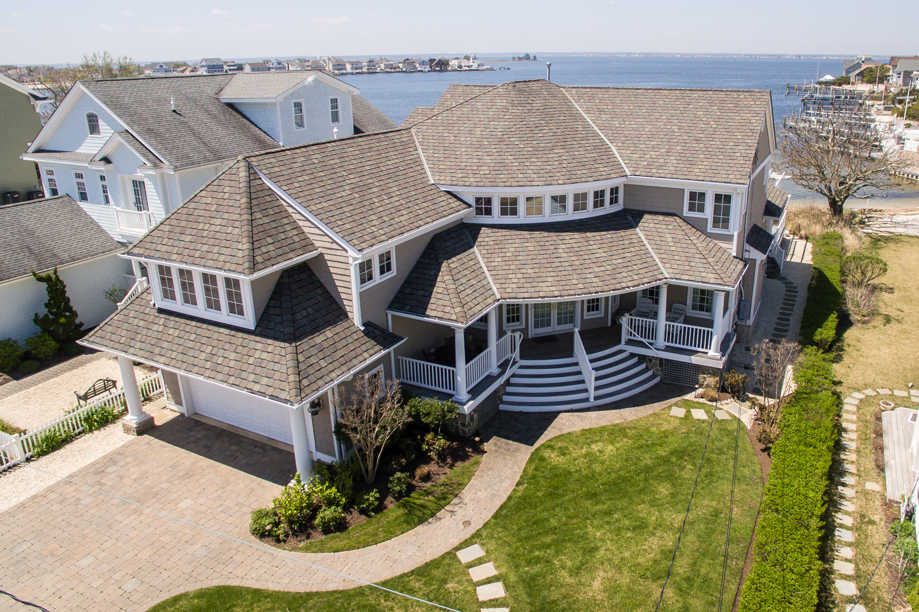 Moradia para Venda às Spectacular Custom Home With Open Bay Views 3651 Bayside Court, Lavallette, Nova Jersey 08735 Estados Unidos