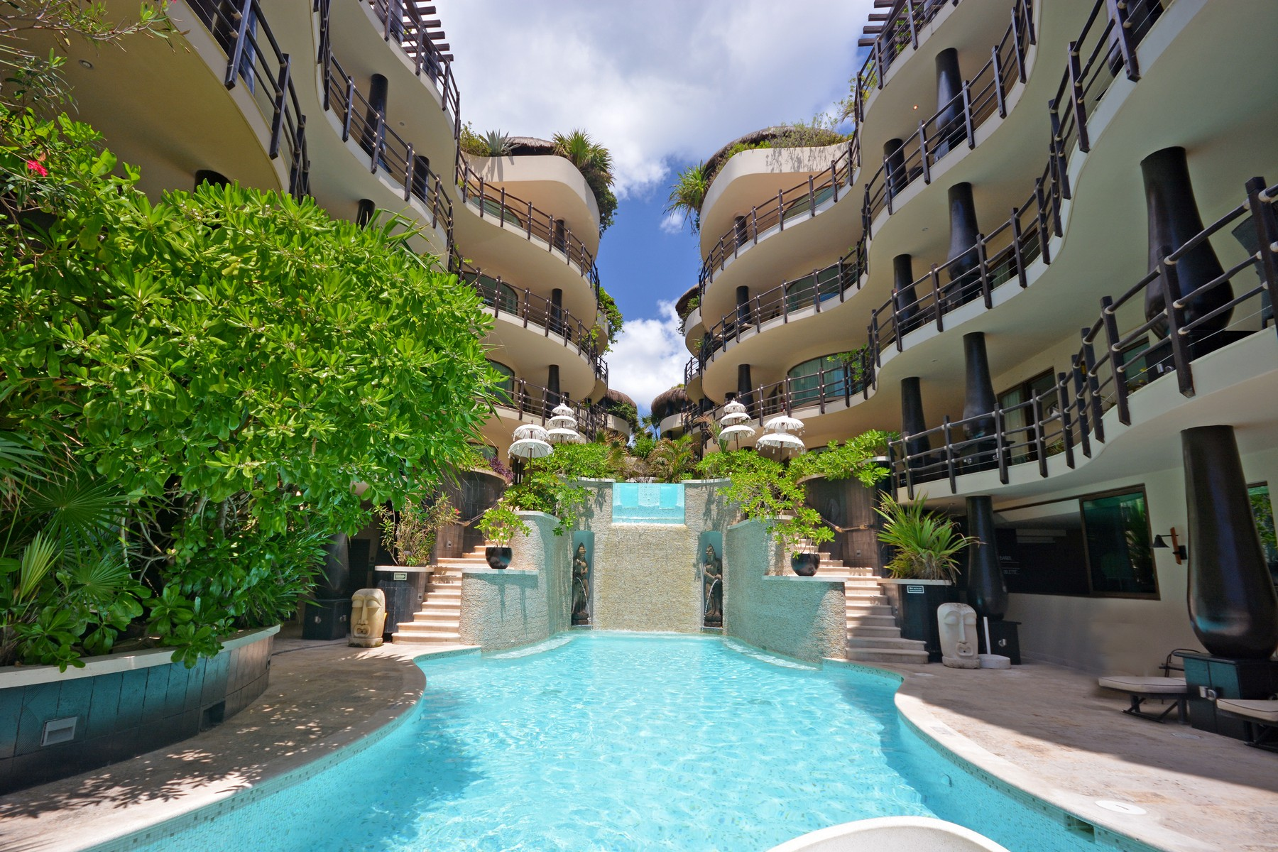 Condominium for Sale at SANCTUARY OF THE SEA Oceanfront, 3rd Level, El Taj Calle 1era Nte, entre 12 y 14 Nte. Playa Del Carmen, 77710 Mexico