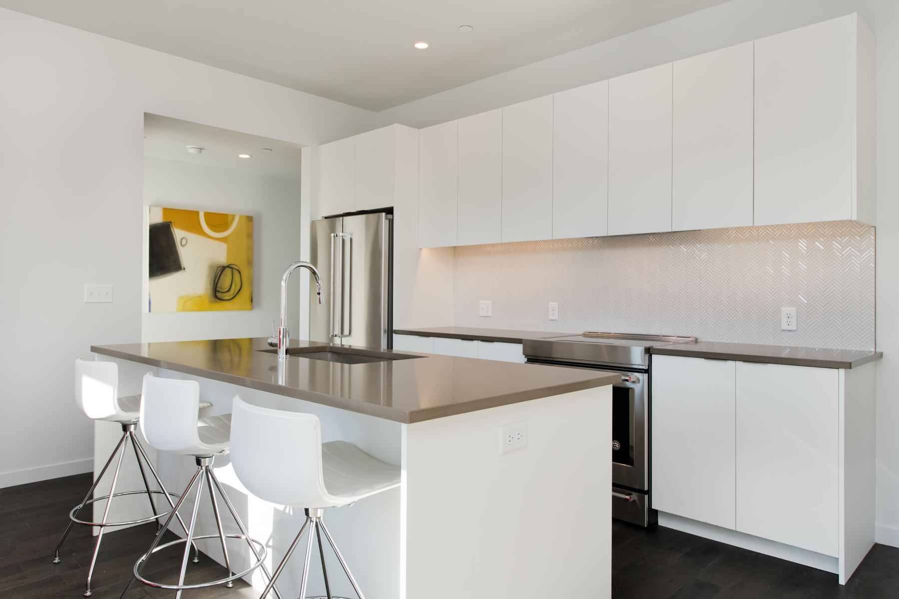 Single Family Home for Sale at Recently completed new construction, move in ready and nearing sell-out. 1300 N Ogden St #202 Denver, Colorado 80218 United States