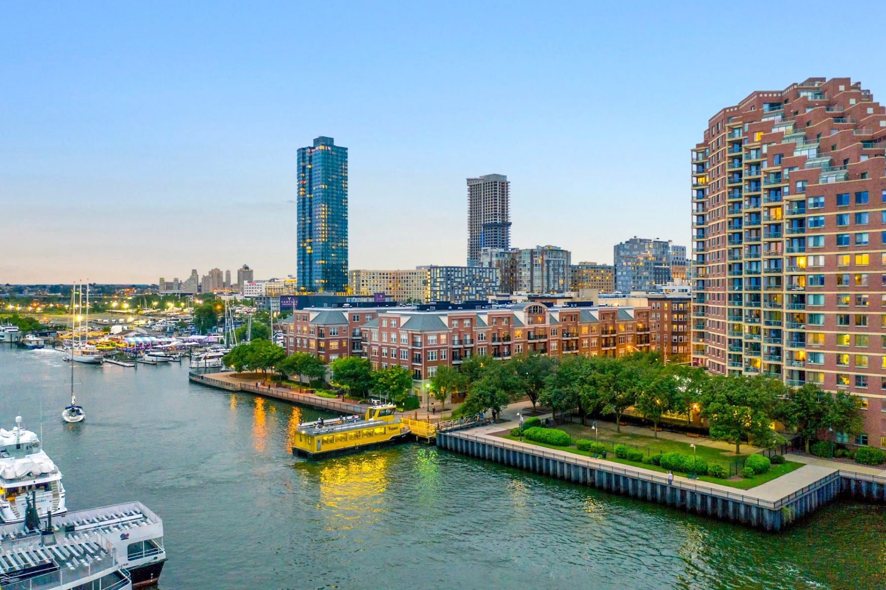 Condominium for Sale at The Pier House Condos 15 Warren St #125 Jersey City, New Jersey 07302 United States