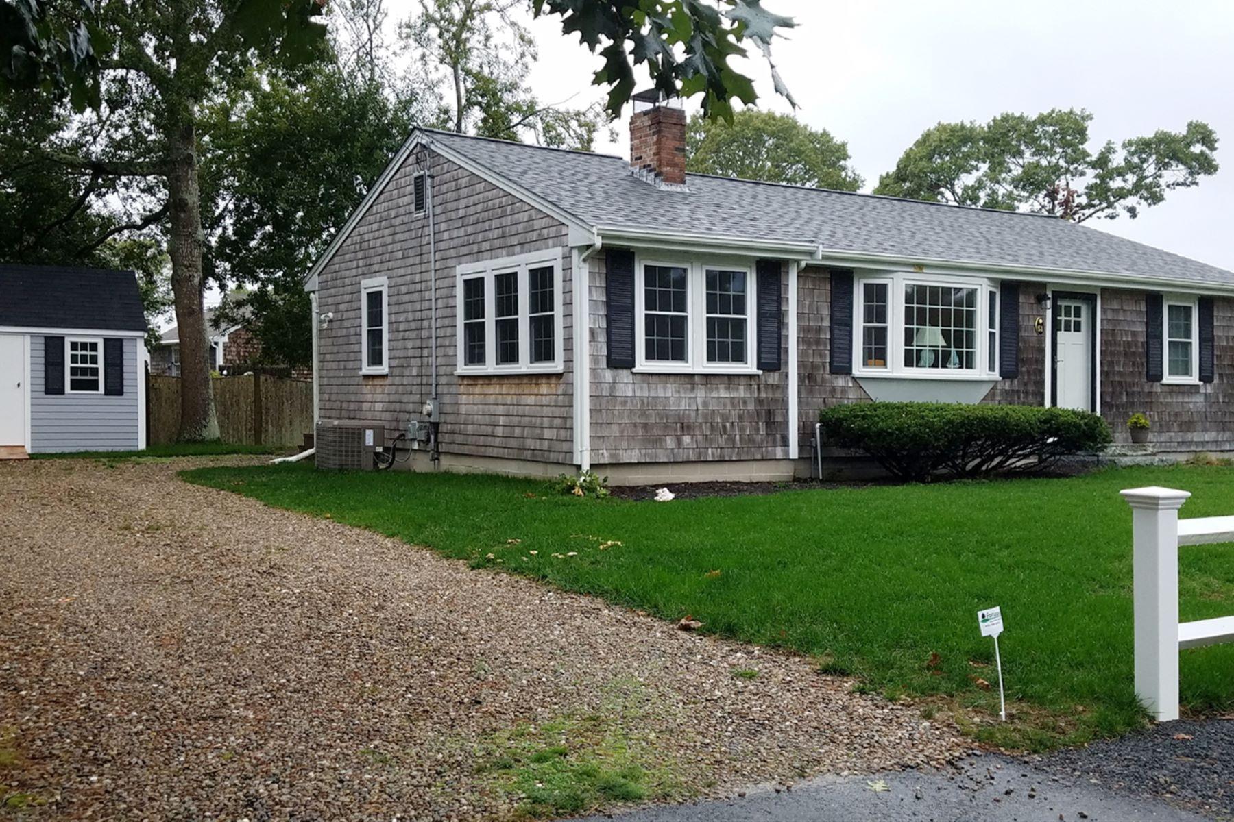 Single Family Homes 为 销售 在 51 Princeton Circle West Dennis, 马萨诸塞州 02670 美国