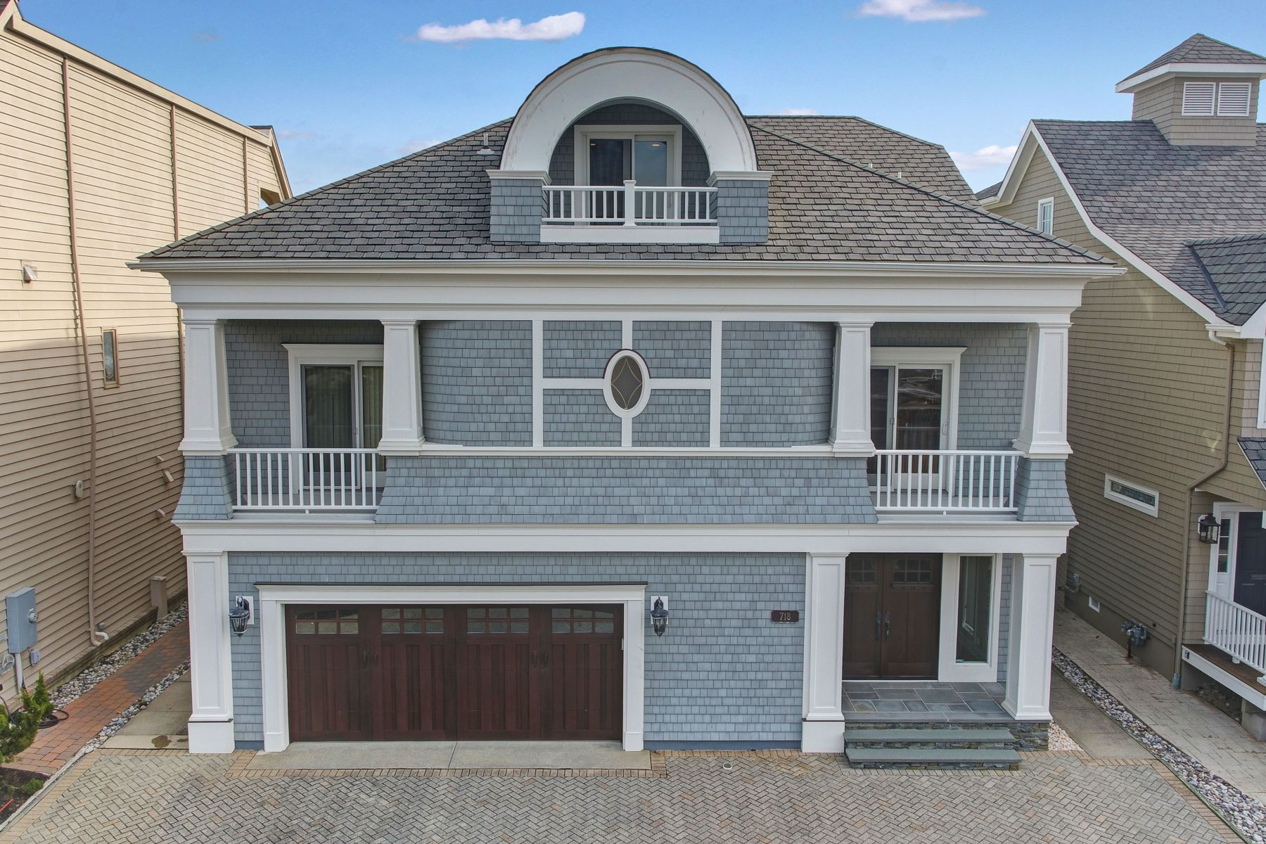 Single Family Homes for Rent at Summer Rental for the Month of July 2020 718 Morven Terrace, Sea Girt, New Jersey 08750 United States