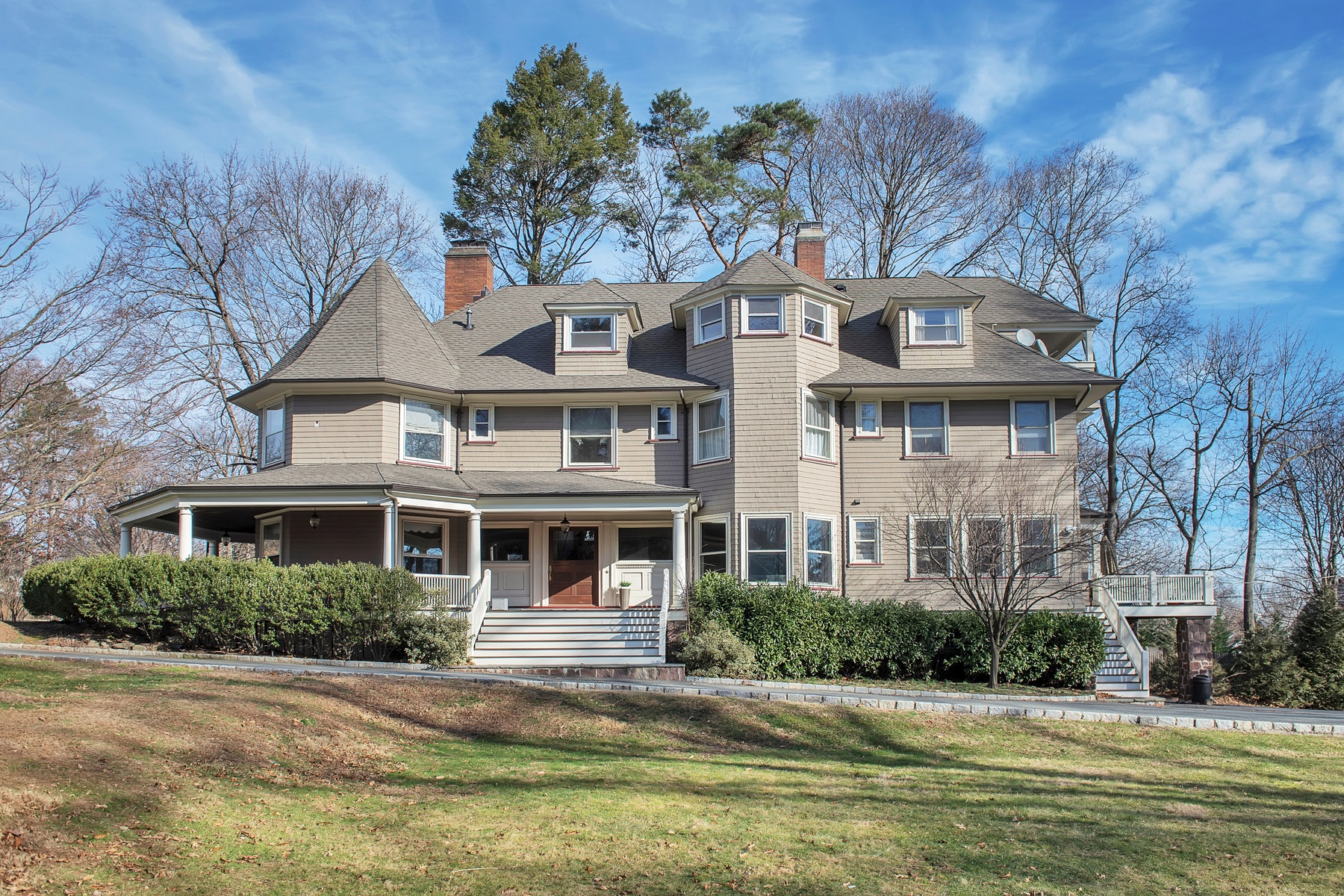 Single Family Home for Sale at Wistful Vista 79 Ridgewood Avenue, Glen Ridge, New Jersey 07028 United States