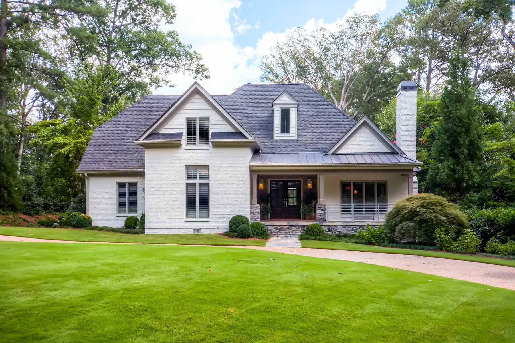 Single Family Home for Sale at Beautifully Renovated and Painted 4 Sides Brick Home 4243 Lakehaven Drive NE Brookhaven, Atlanta, Georgia, 30319 United States