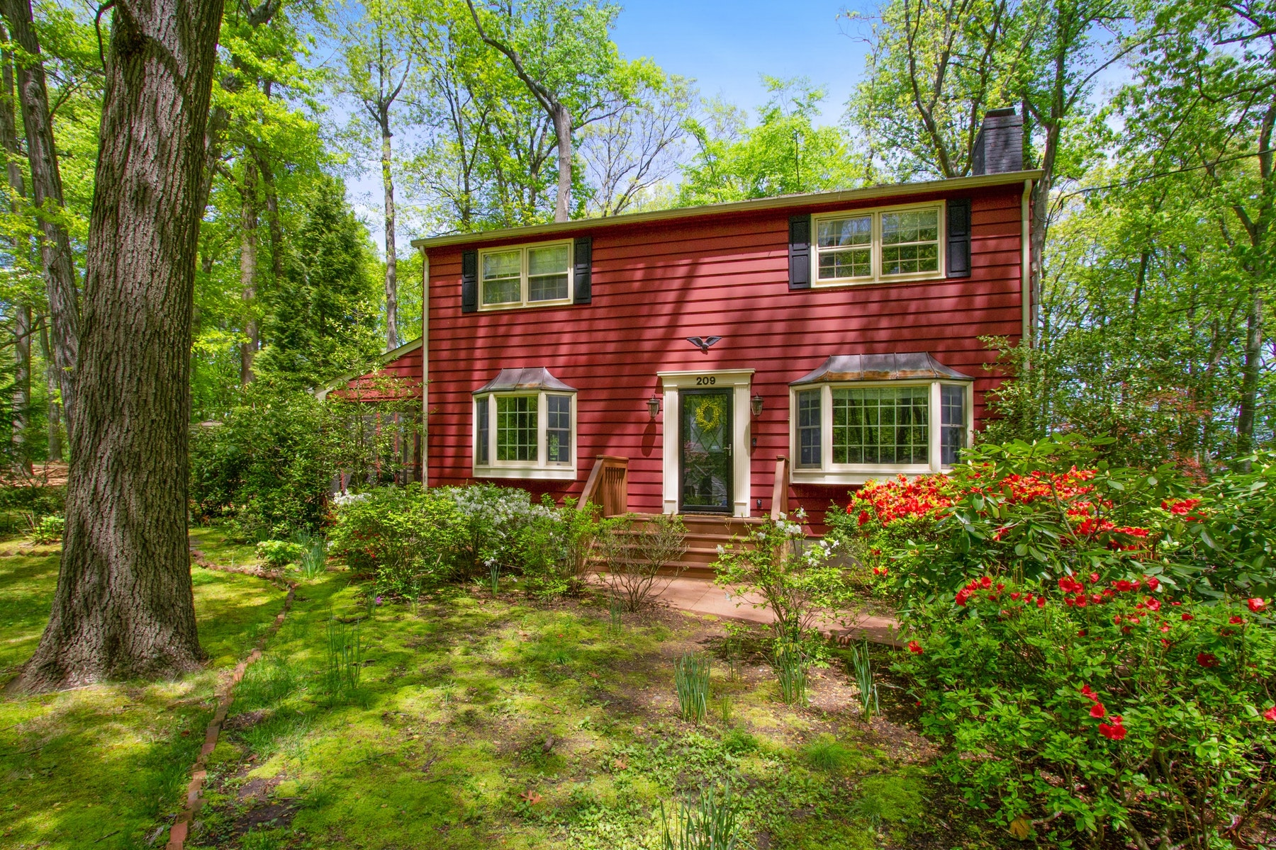 Single Family Homes for Sale at LIVE LINCROFT 209 Woodland Drive Lincroft, New Jersey 07738 United States