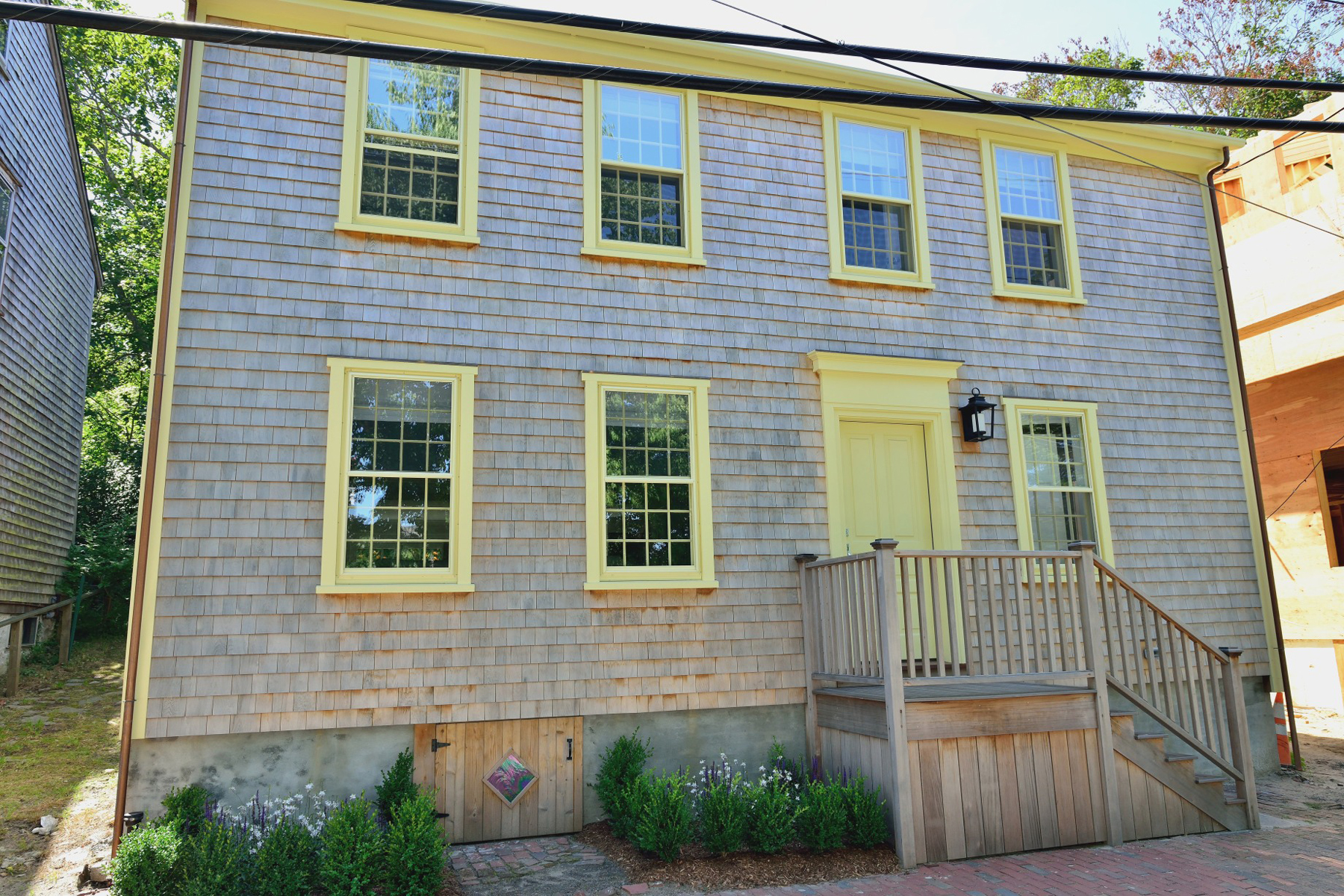 Single Family Home for Sale at Historic Nantucket Four Bay Home 11 Union Street Nantucket, Massachusetts, 02554 United States