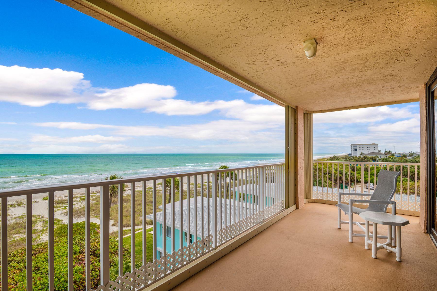 Condominiums for Sale at Coral Sands Condo 1527 S. Atlantic Avenue #502 Cocoa Beach, Florida 32931 United States