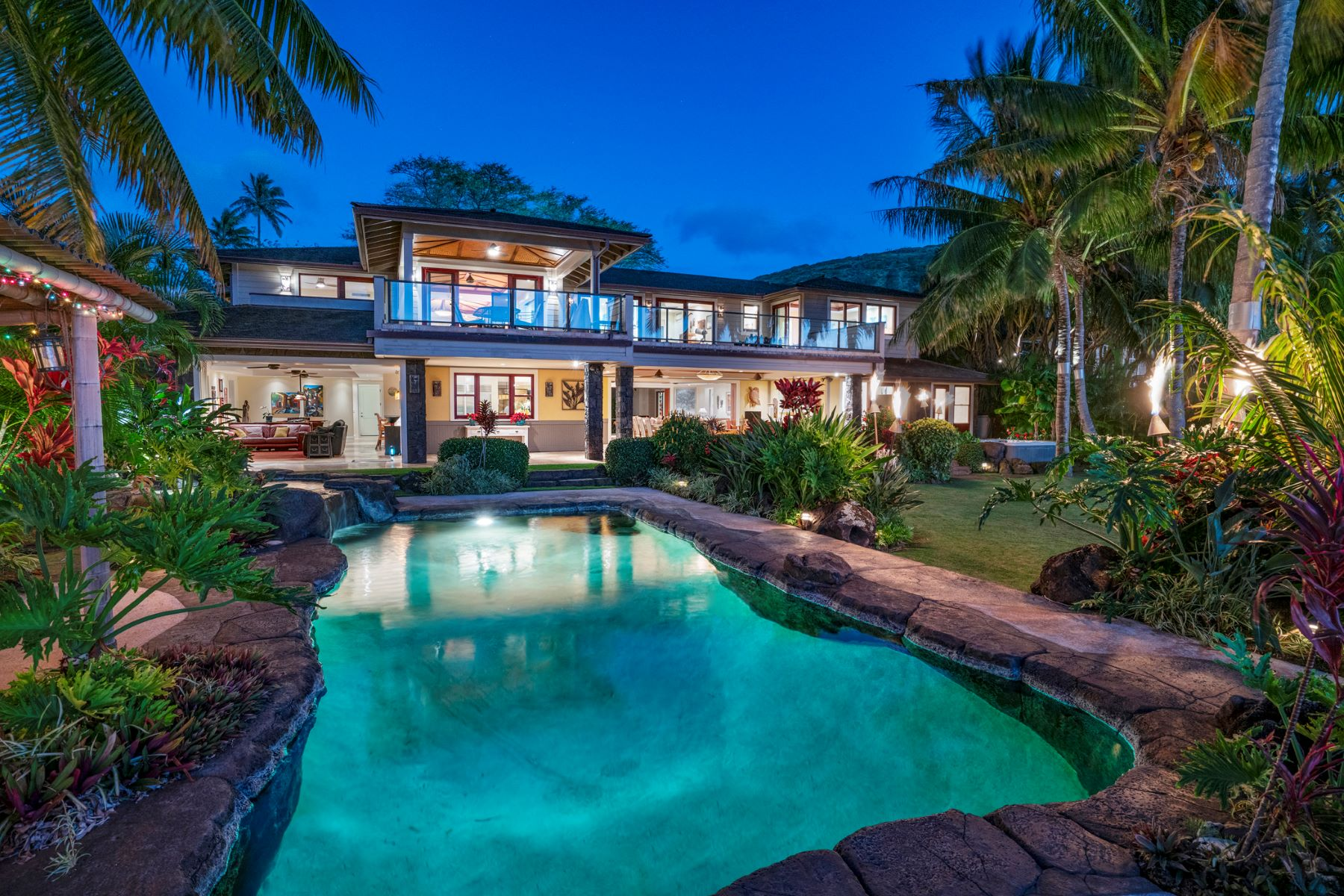 Single Family Homes 為 出售 在 Ku'oko'a Kai, Ocean View, Diamond Head View, Portlock, Luxury Home 445 Portlock Rd, Honolulu, 夏威夷 96825 美國