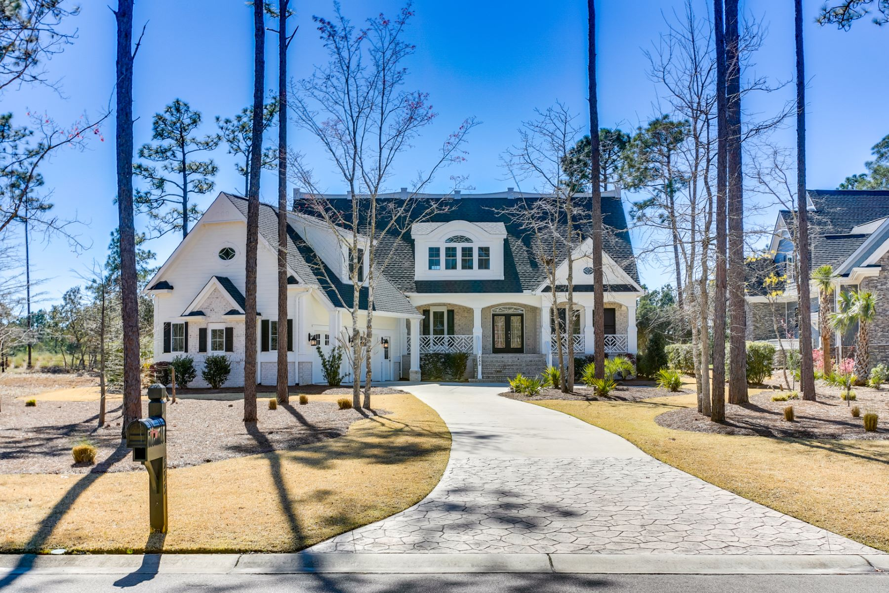 Single Family Homes for Active at Magnificent Newly Constructed Home in Gated Community 555 Barrington Place SW Ocean Isle Beach, North Carolina 28469 United States