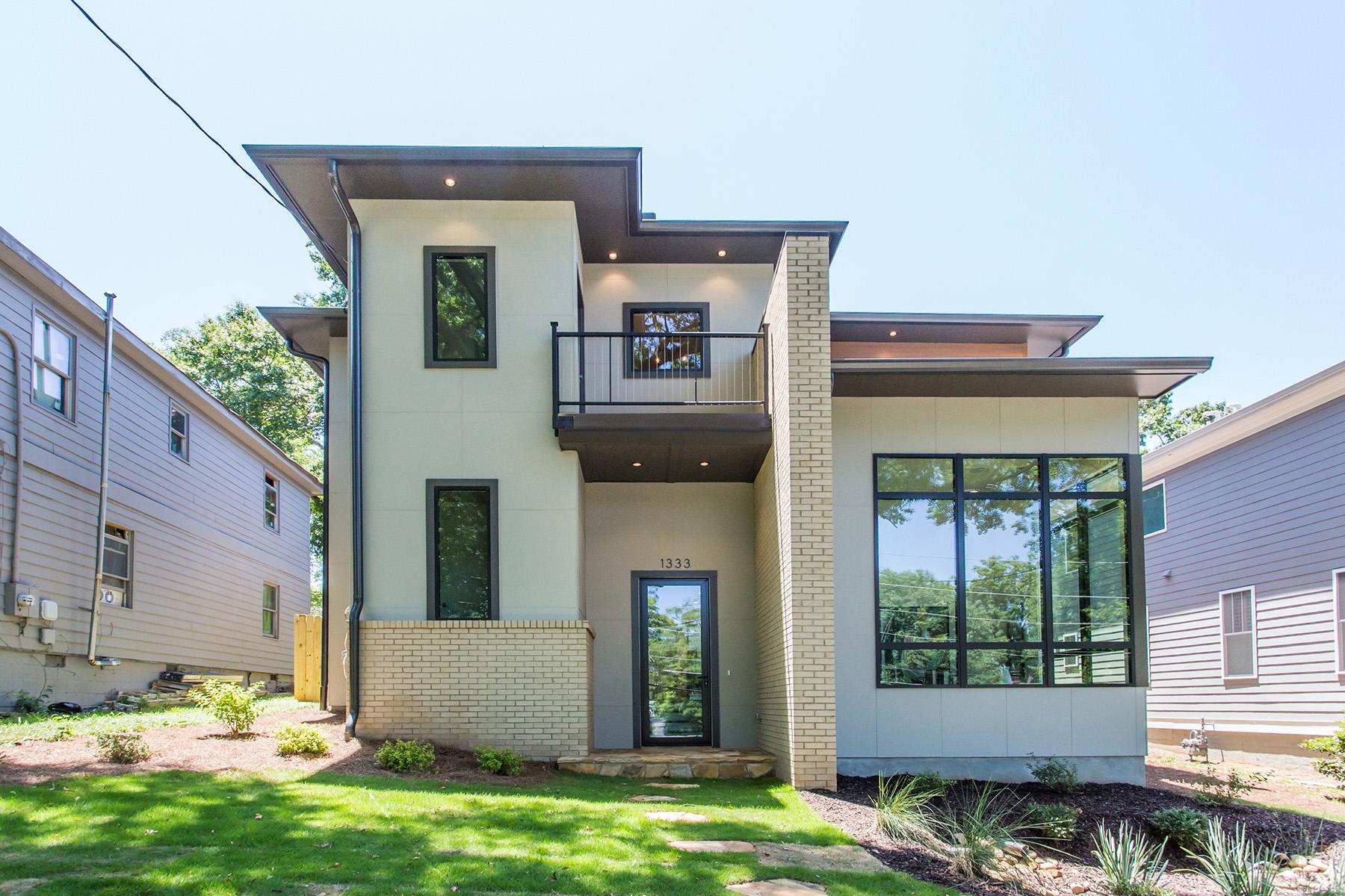 Single Family Home for Sale at Stunning Modern Prairie in Edgewood 1333 Hardee St Atlanta, Georgia 30307 United States
