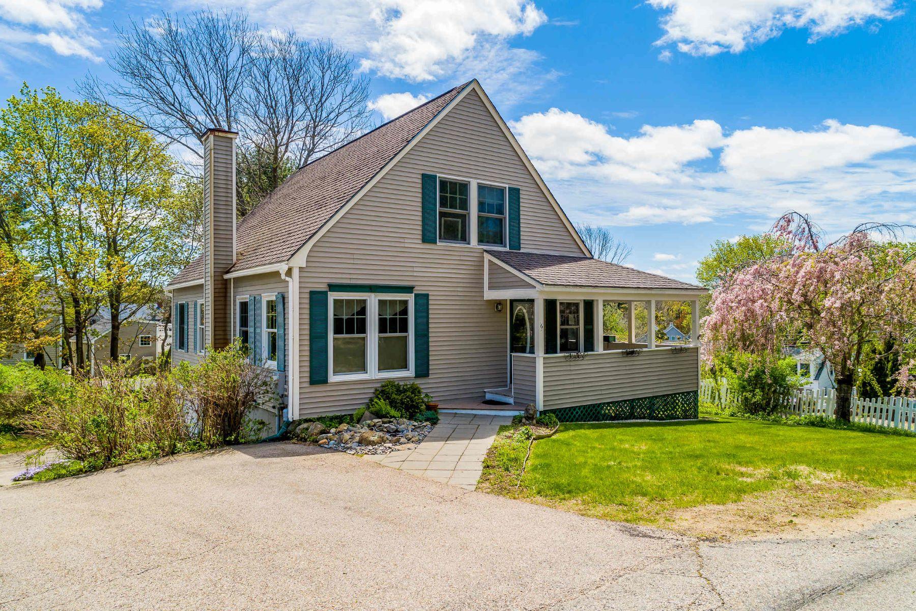 Single Family Homes للـ Sale في 4 Bedroom Cape Near All Ogunquit Amenities 16 Rocky Lane, Ogunquit, Maine 03907 United States