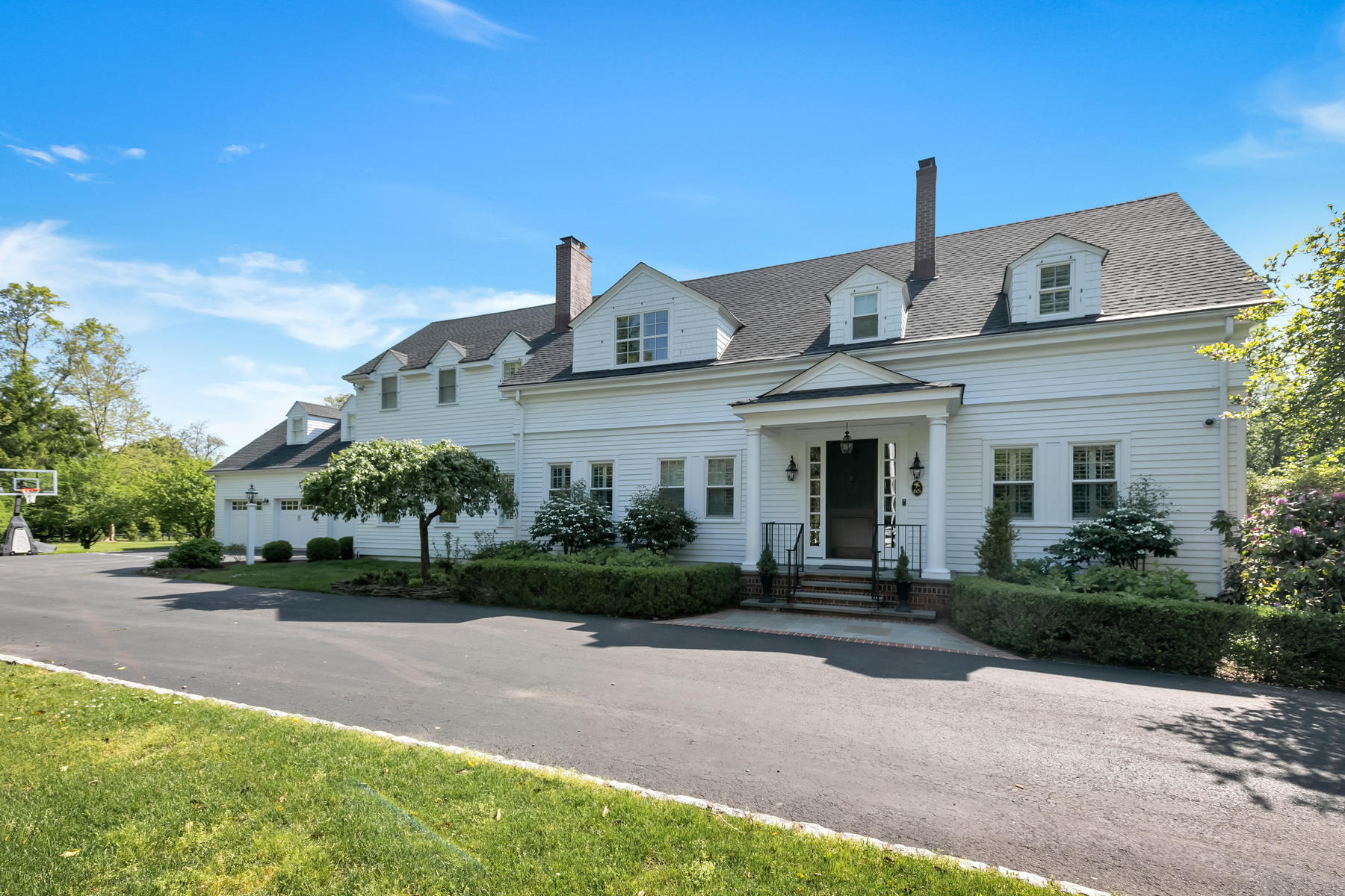 Single Family Homes for Active at Custom Rumson Home 65 Navesink Ave Rumson, New Jersey 07760 United States