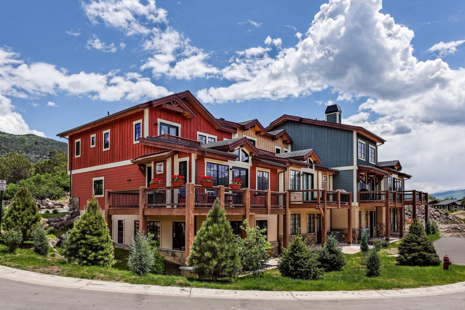 타운하우스 용 매매 에 Best Views at Shadowrock 217 Overlook Ridge Carbondale, 콜로라도, 81623 미국에서/약: Aspen