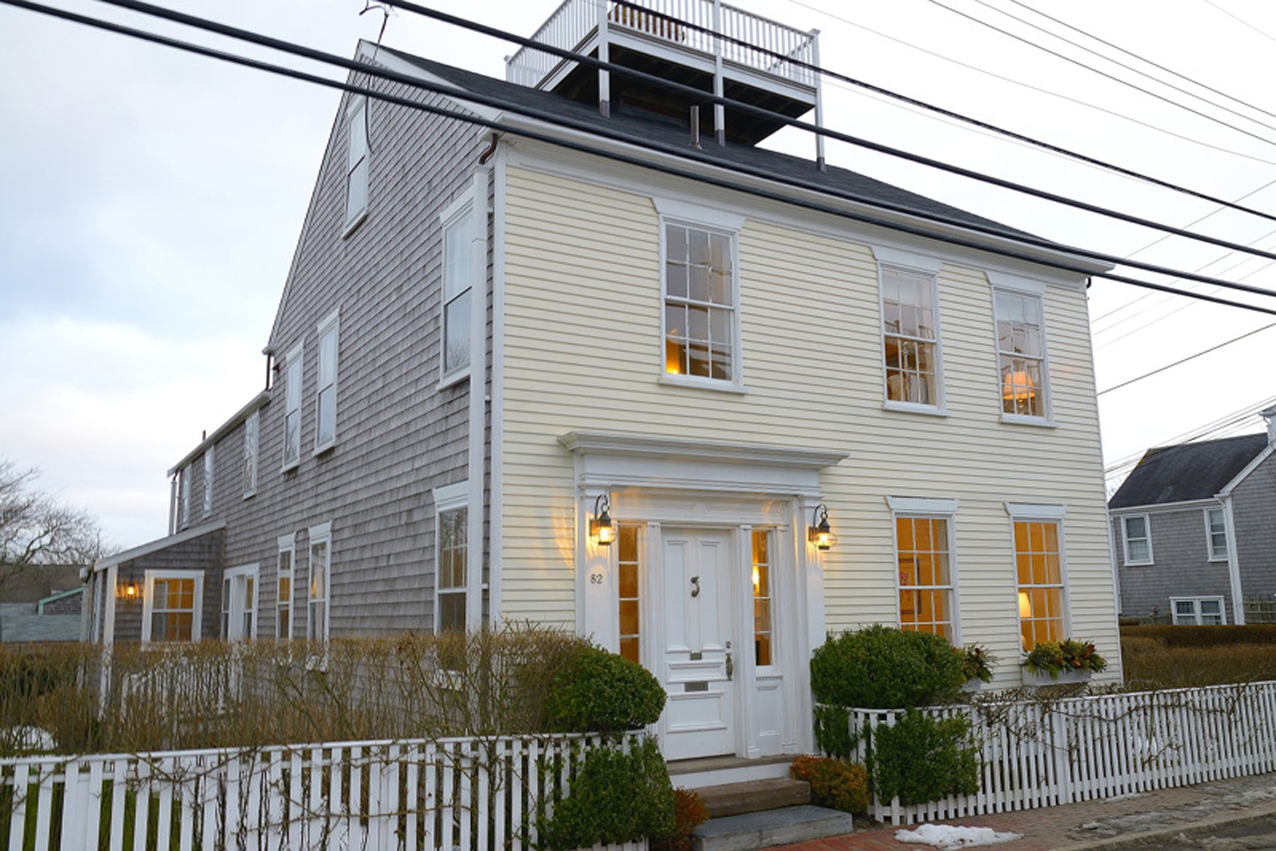 Single Family Home for Sale at In Town Antique 82 Orange Street Nantucket, Massachusetts 02554 United States