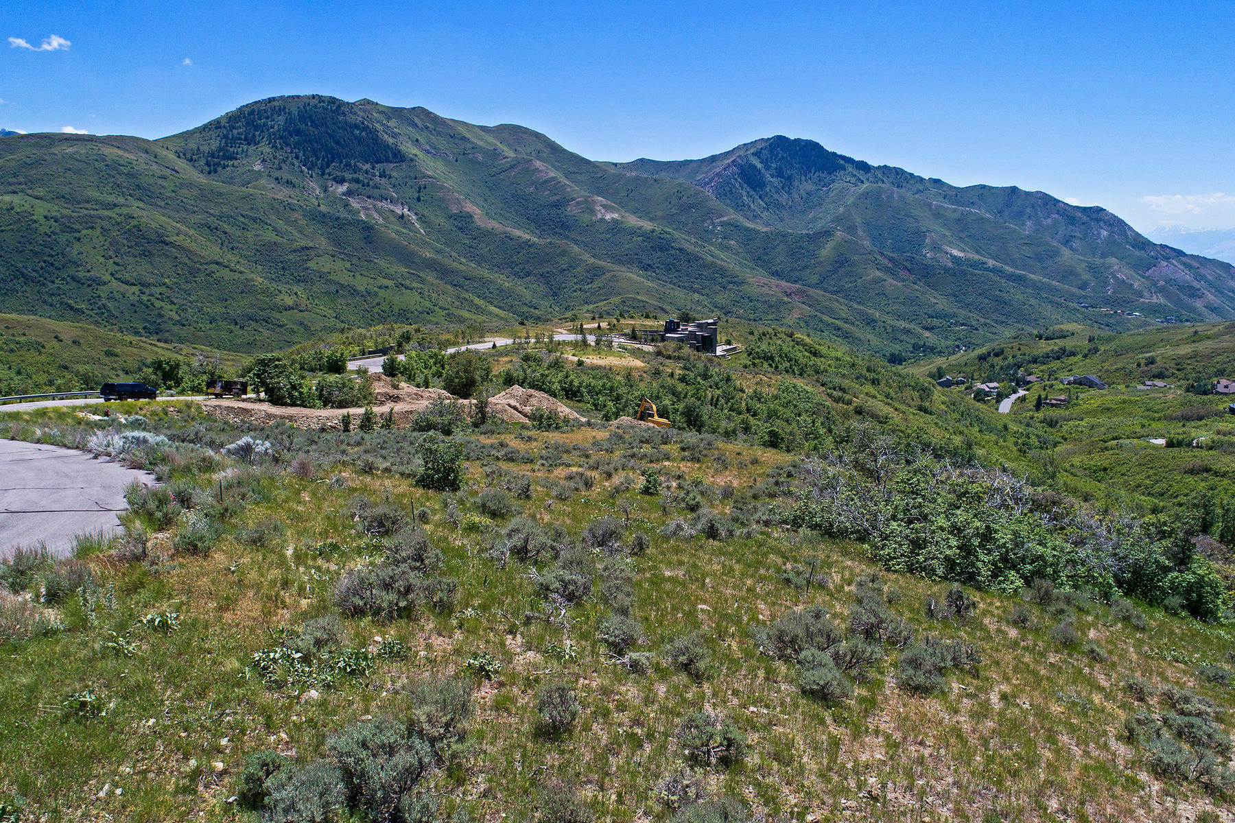 Terrain pour l Vente à Exclusive 9.53 Acre Lot 627 N Snowberry Ln Salt Lake City, Utah, 84108 États-Unis