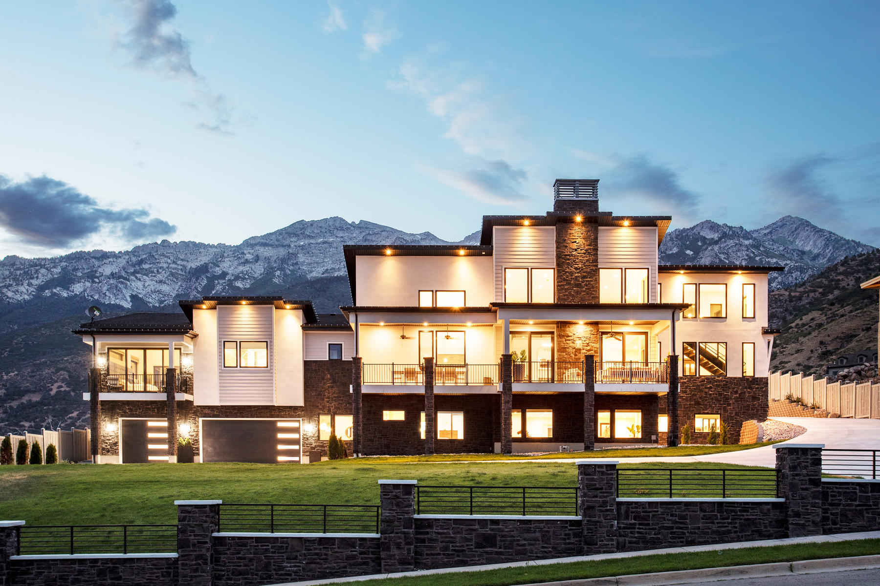 Single Family Homes for Active at Contemporary Alpine Masterpiece 1621 N Box Elder Circle Alpine, Utah 84004 United States