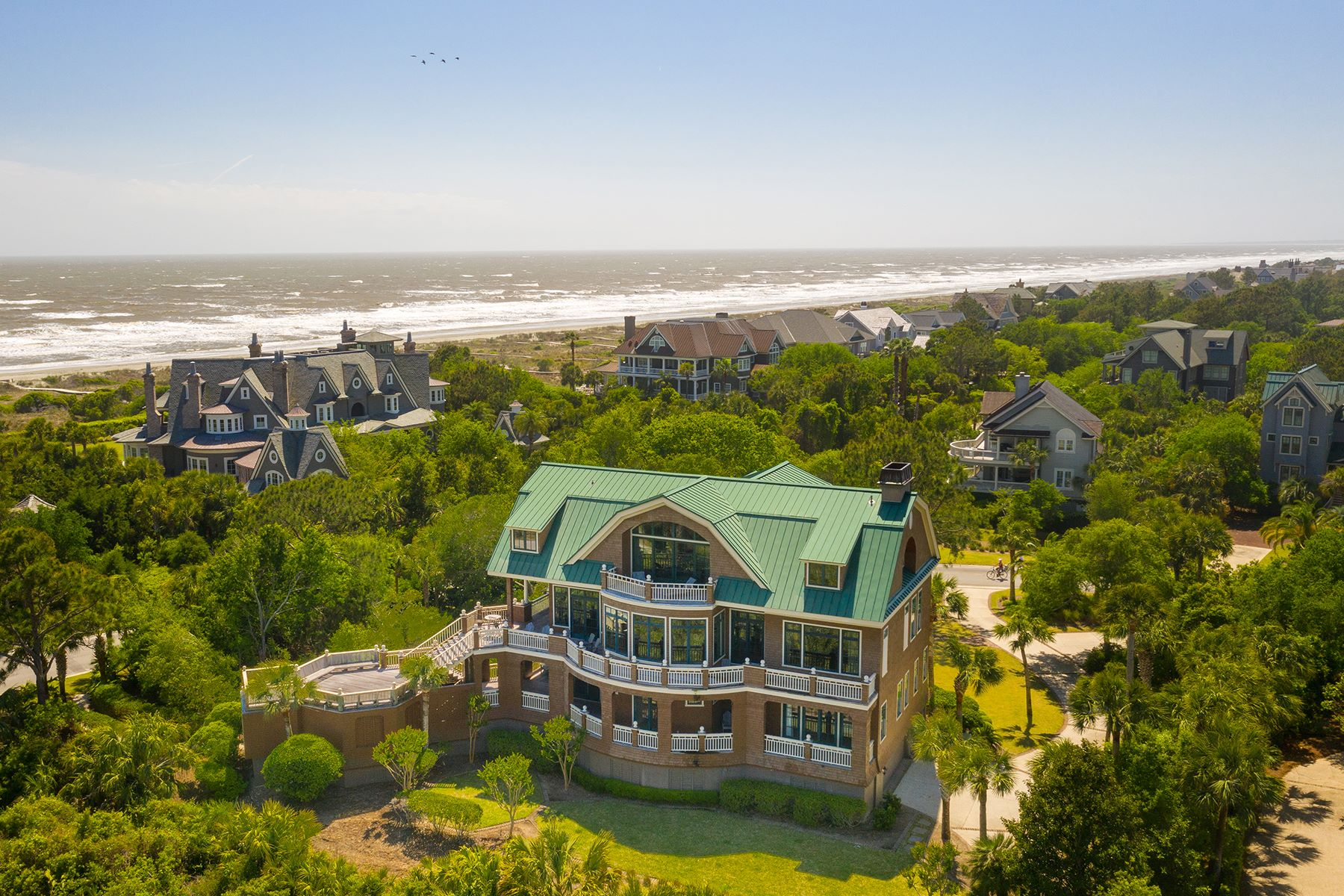 Single Family Homes for Sale at 221 Ocean Marsh Road Kiawah Island, South Carolina 29455 United States