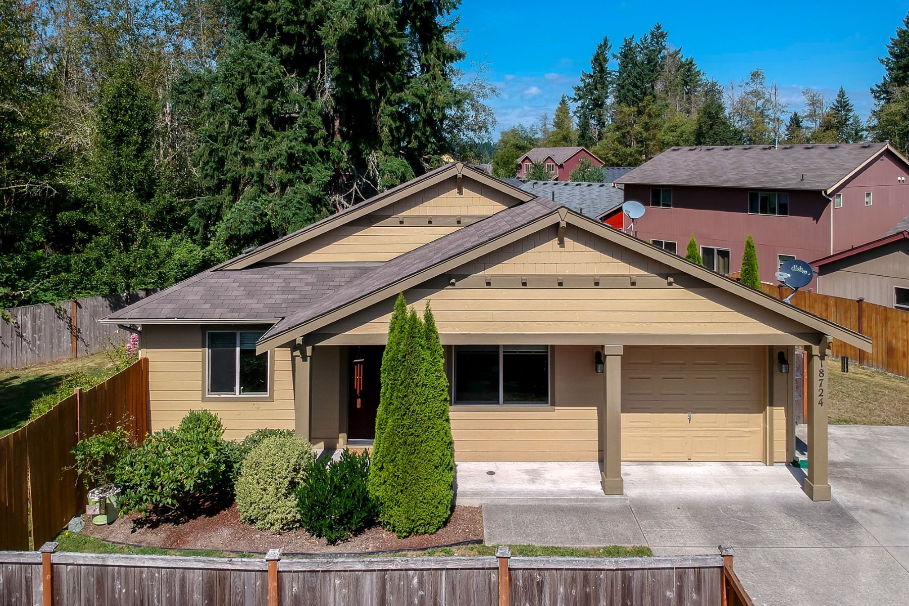 Single Family Homes for Sale at Spanaway Mountain View 18724 19th Av Ct E Spanaway, Washington 98387 United States