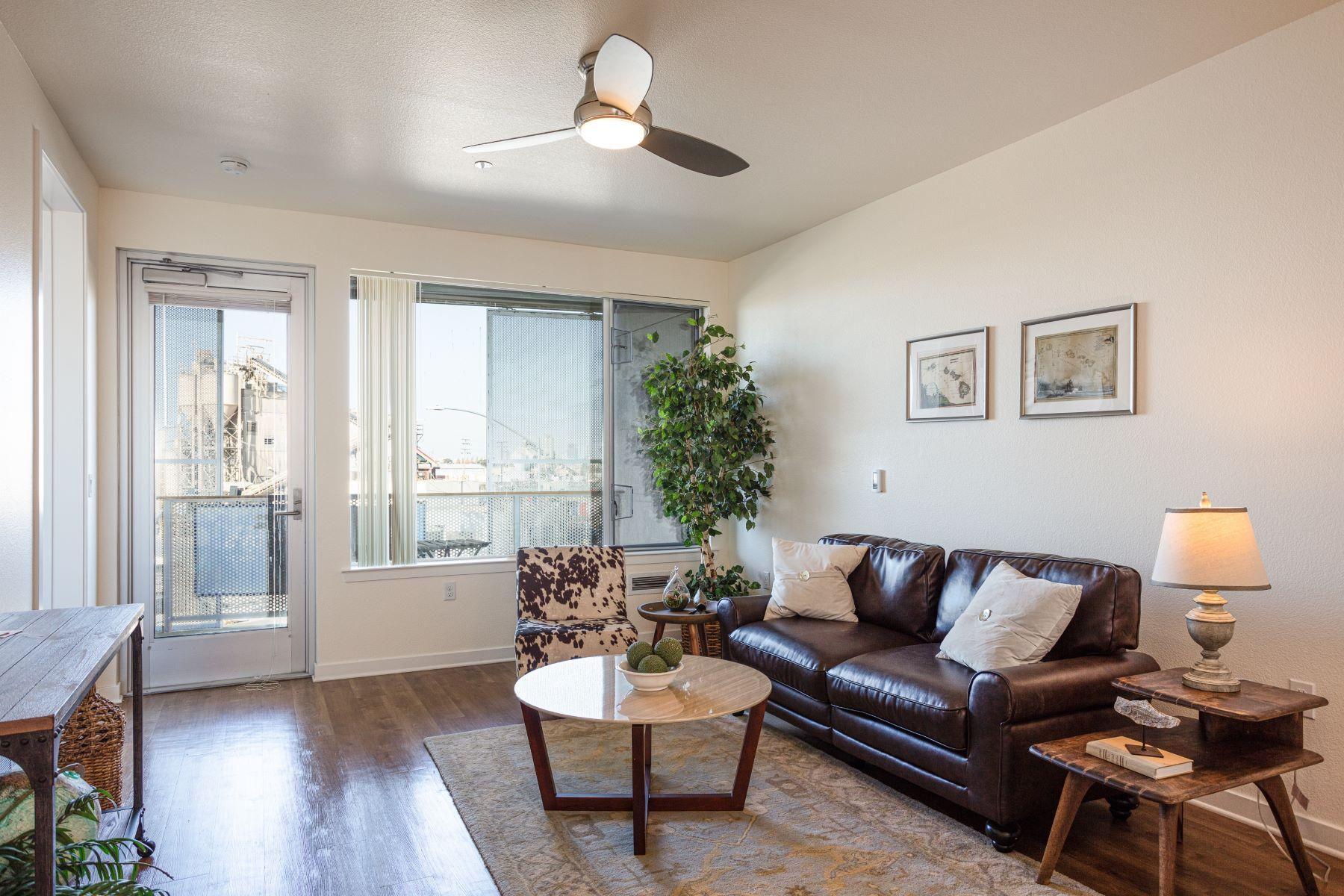 Condominiums for Sale at Phoenix Common's - Unique Plus Fifty-Five Housing Communithy 340 29th Avenue #308 Oakland, California 94601 United States