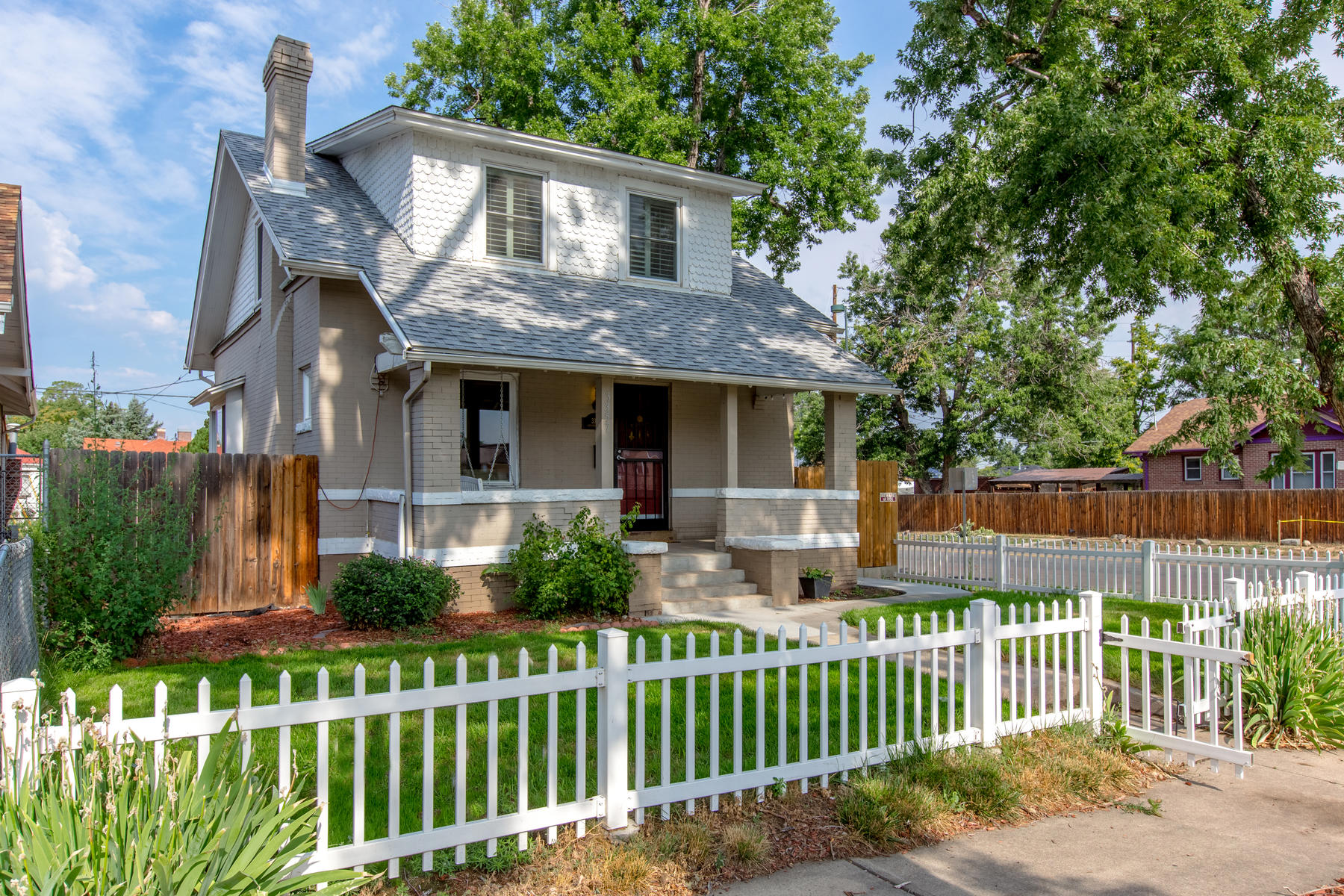 Single Family Home for Active at Vintage Charm, Modern Updates in Smoking Hot, Vibrant Cole 3357 N. Gaylord St. Denver, Colorado 80205 United States