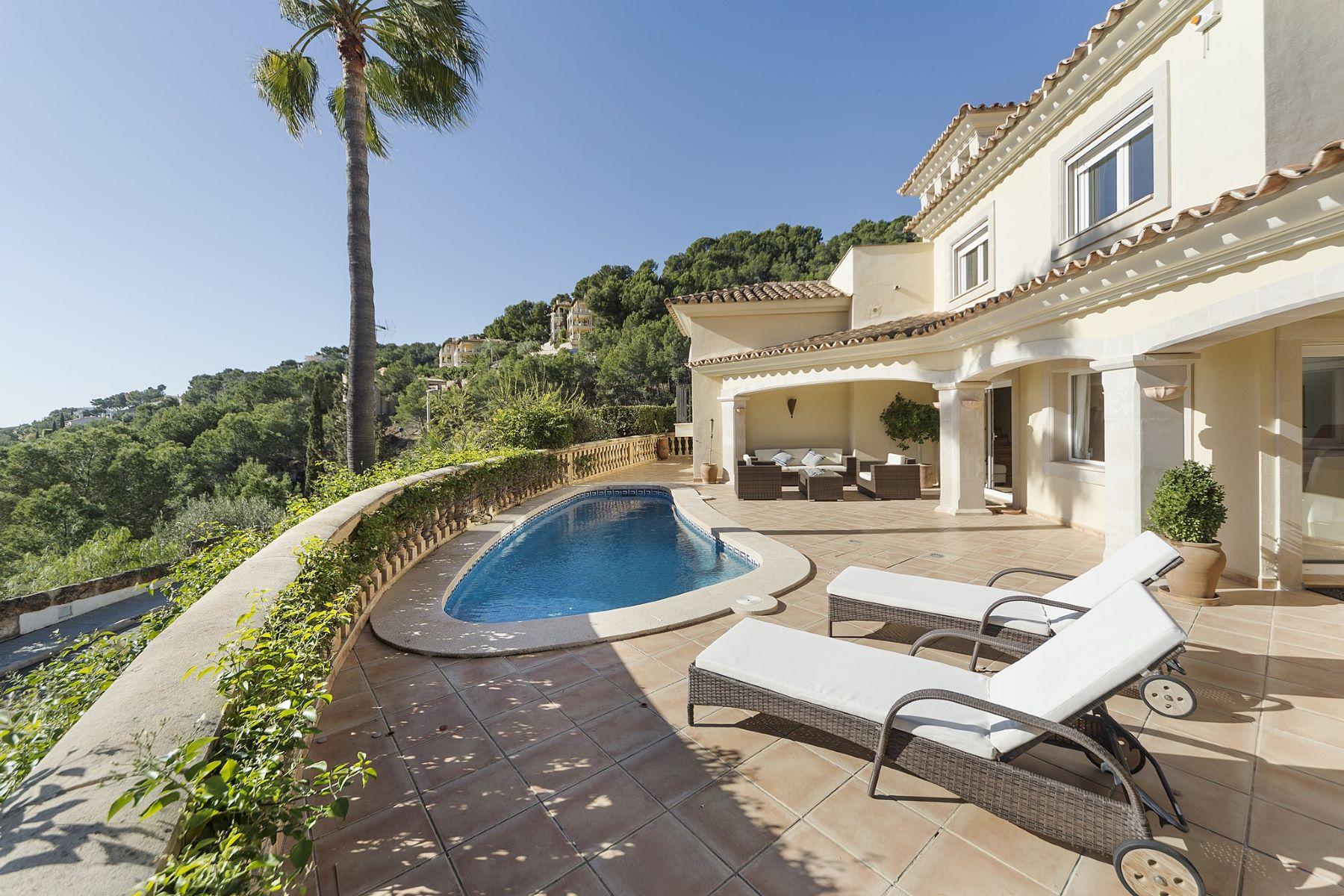 Maison unifamiliale pour l à vendre à Mediterranean villa with views over Port Andratx Port Andratx, Majorque, Espagne