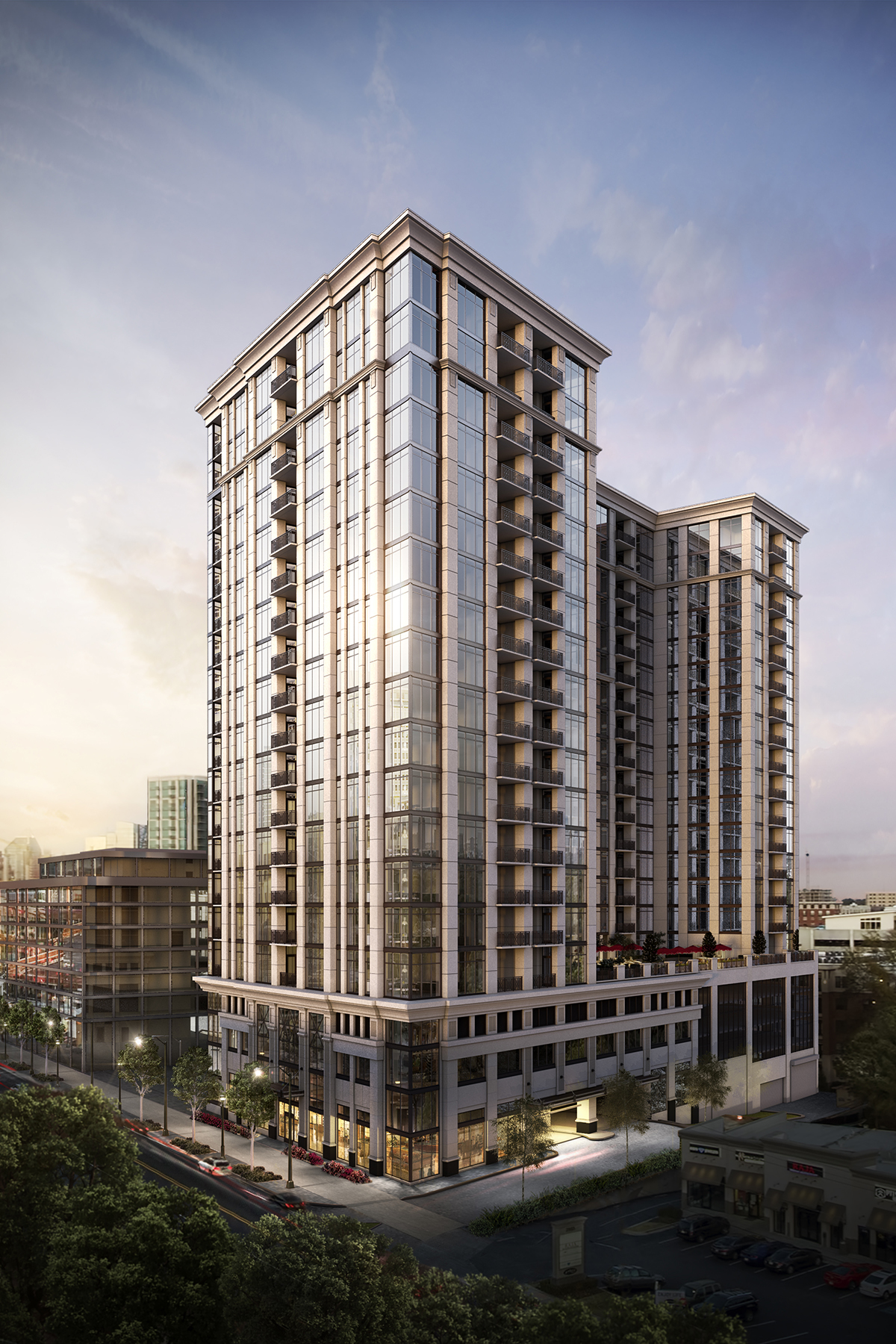 Condominium for Sale at The Sutton Buckhead 2965 Peachtree Road NW No. 908 Atlanta, Georgia 30305 United States