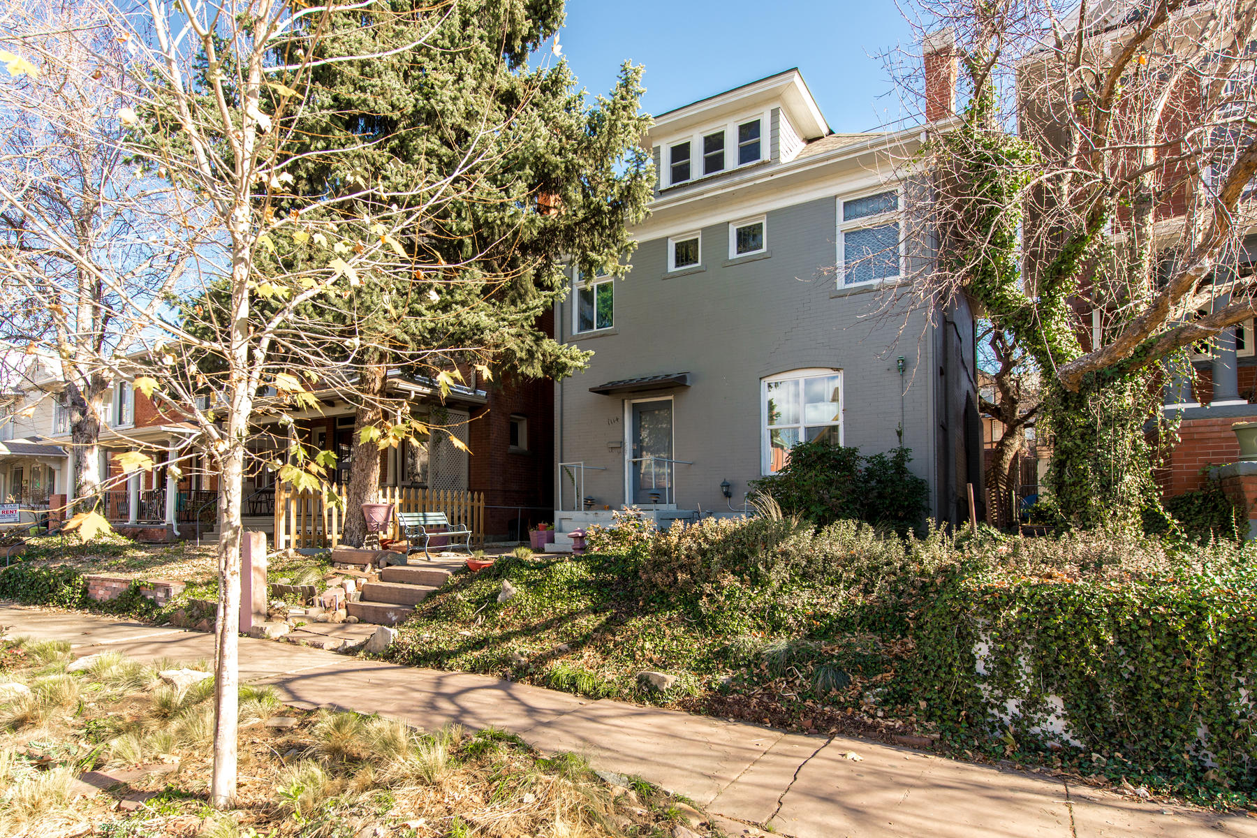 Additional photo for property listing at Great opportunity. Rent all 5 units or live in one and let the tenants pay your 1114 Downing Street Denver, Colorado 80218 United States