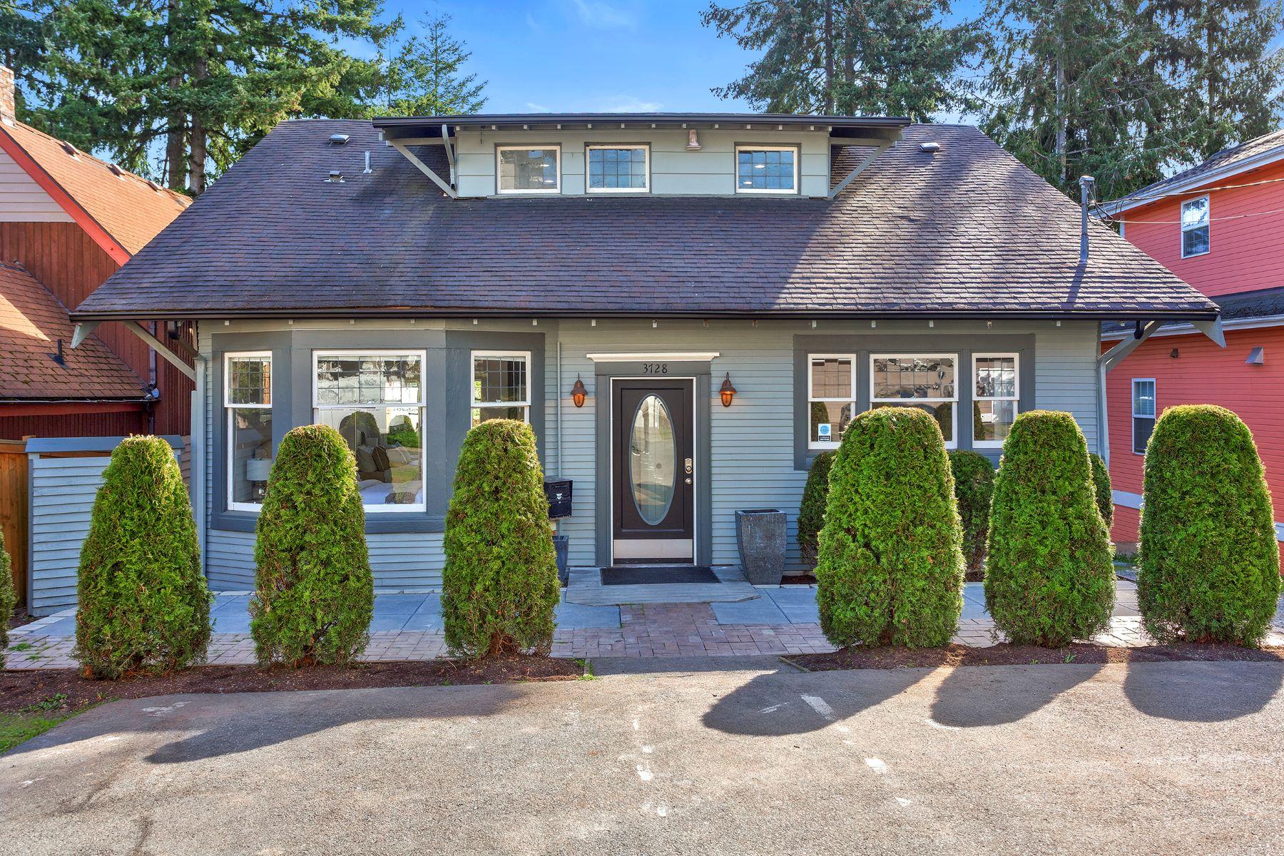 Multi-Family Homes for Sale at Restored Everett Duplex 3728 Rucker Ave Everett, Washington 98201 United States
