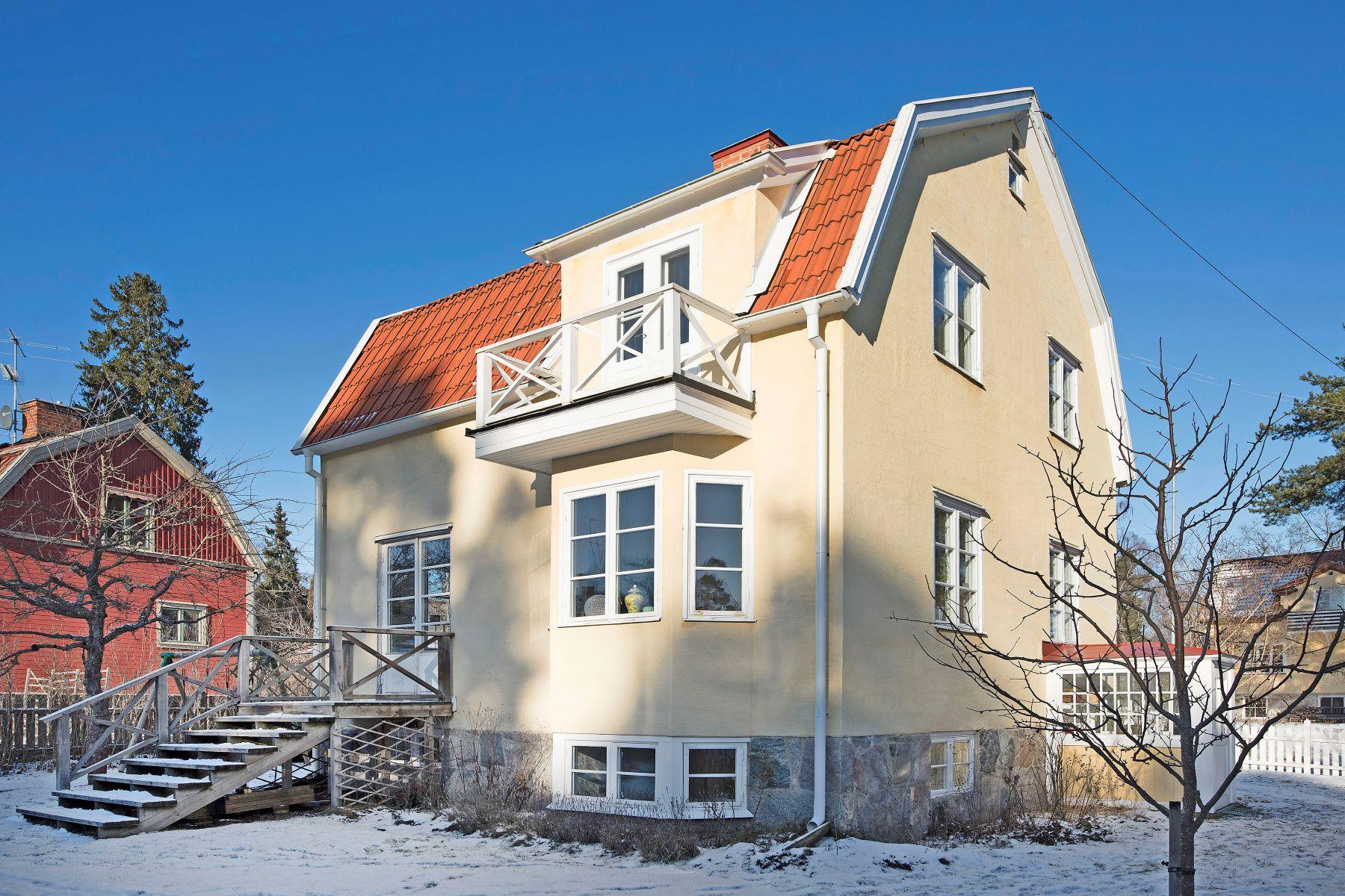 独户住宅 为 销售 在 Fylgiavägen 11 于什霍尔姆, 斯德哥尔摩, 18254 瑞典