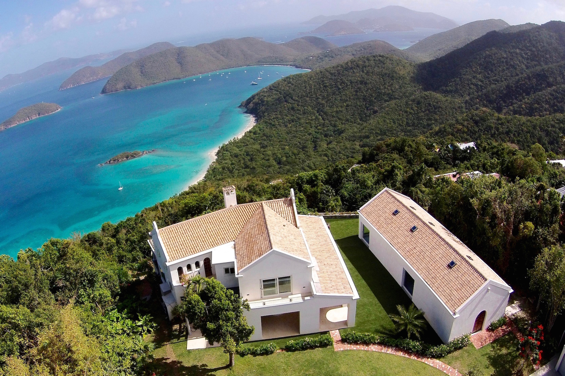 Single Family Home for Sale at Le Chateau 3-1 Catherineberg St John, Virgin Islands 00830 United States Virgin Islands