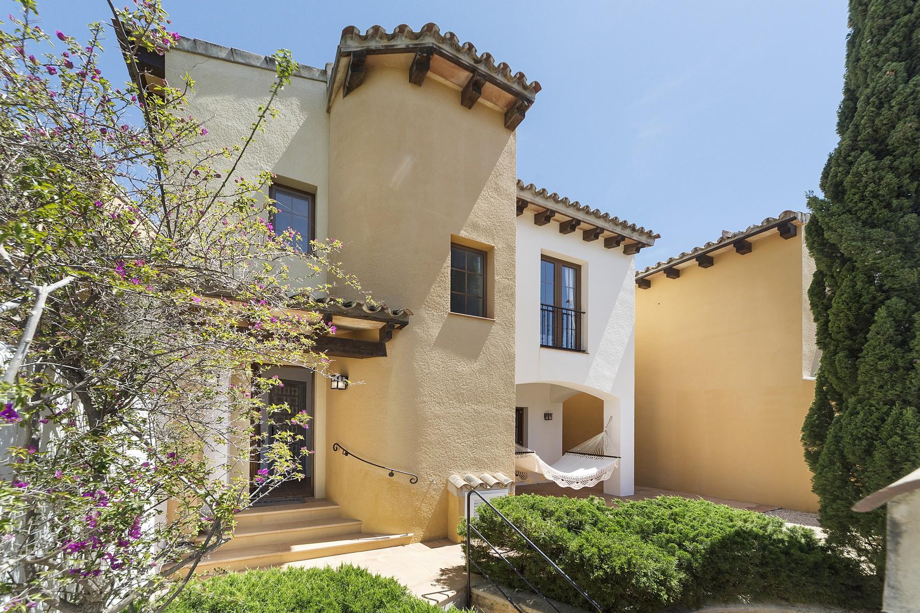 Einfamilienhaus für Verkauf beim Villa direkt am Golfplatz Santa Ponsa zum Verkauf Santa Ponsa, Mallorca, Spanien