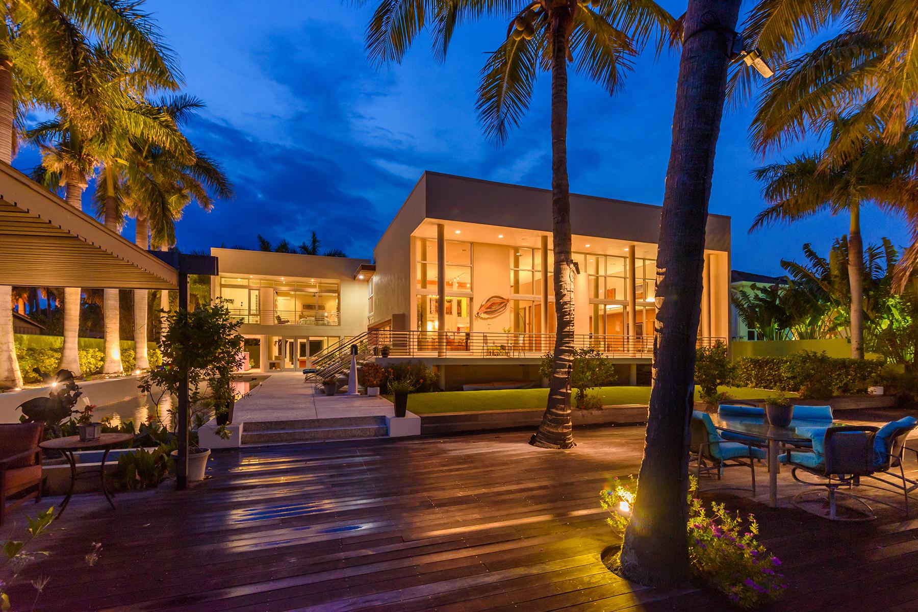 Single Family Homes por un Venta en LIDO SHORES 246 Morningside Dr, Sarasota, Florida 34236 Estados Unidos